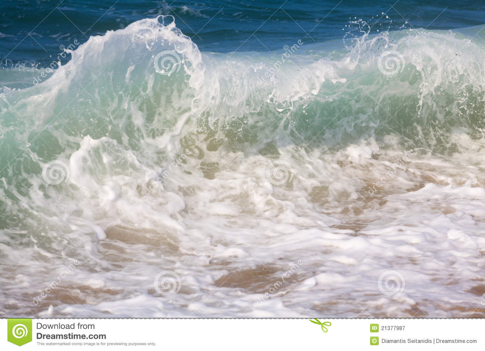 Fractura de ondas de océano