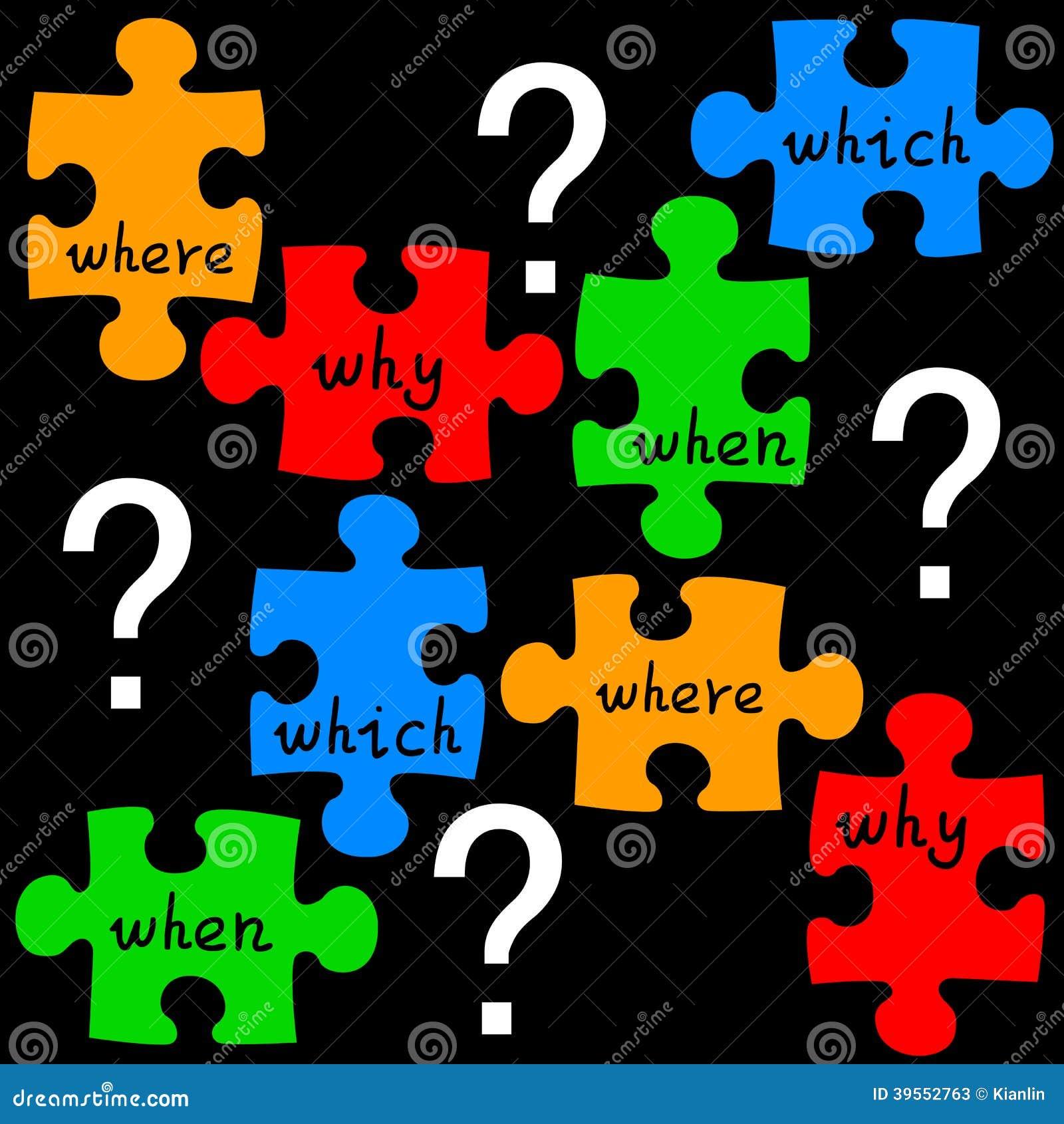 Fragenpuzzlespiel