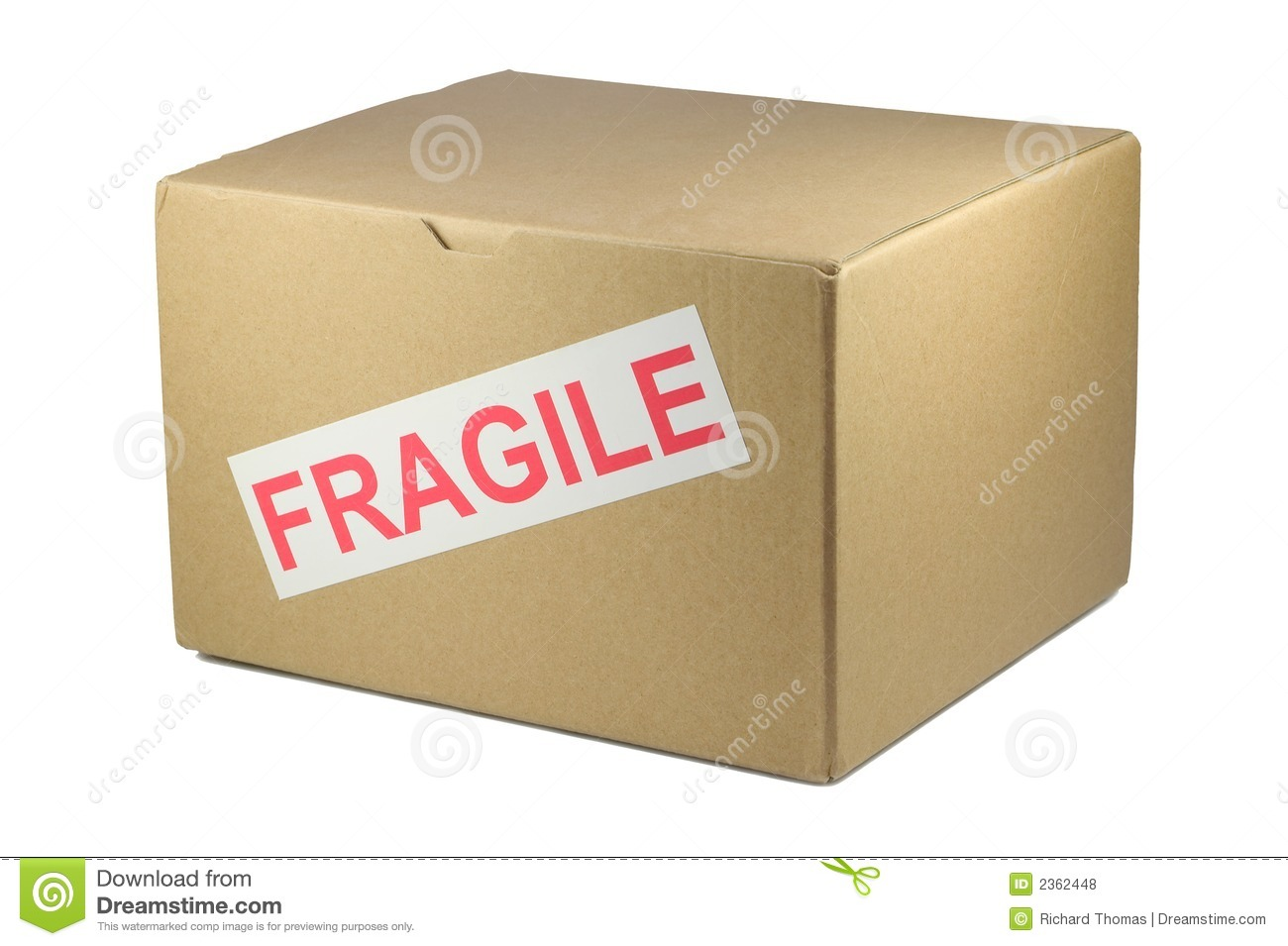 Fragile Box Royalty Free Stock Photos - Image: 2362448