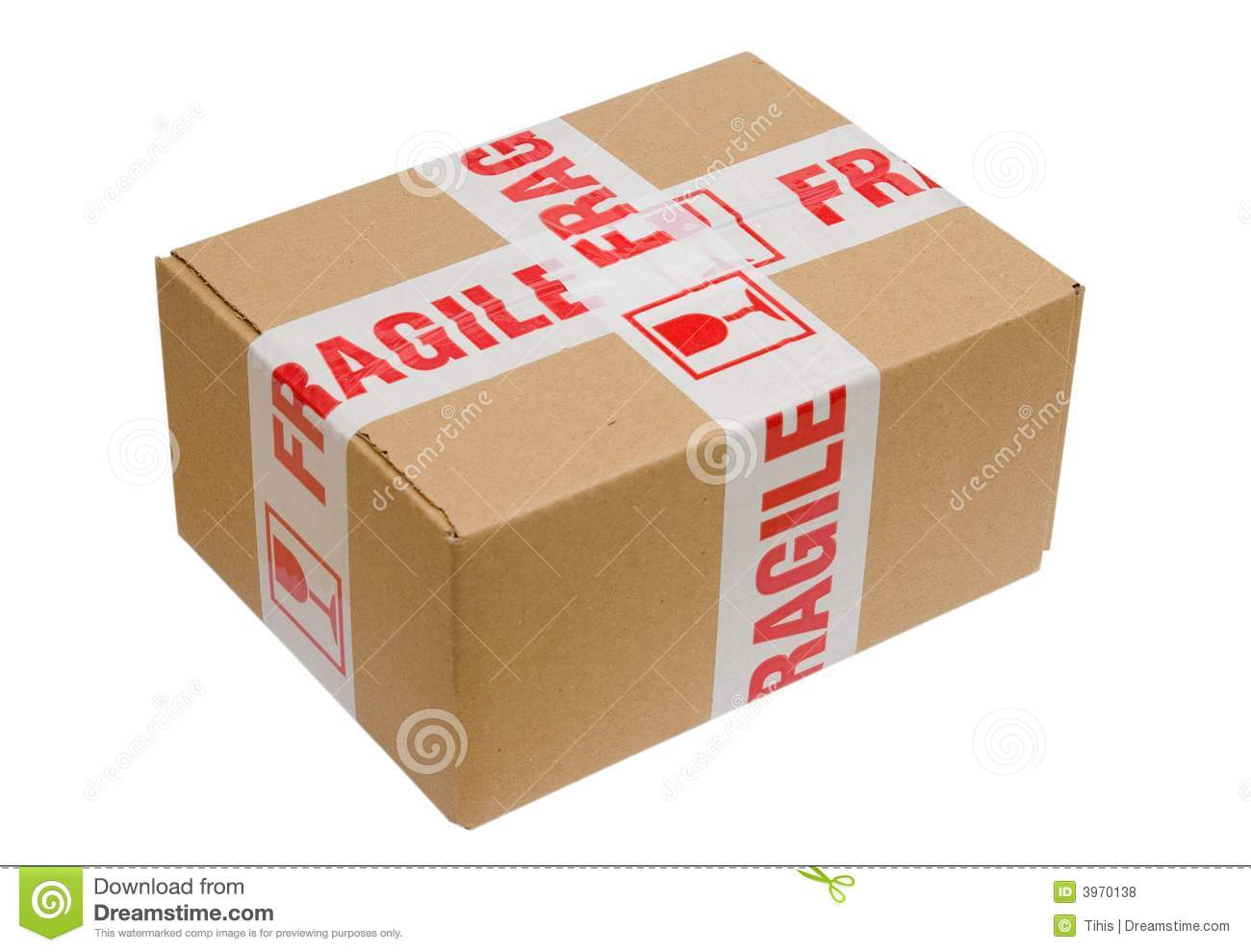 fragile package stock photo image of label service transport