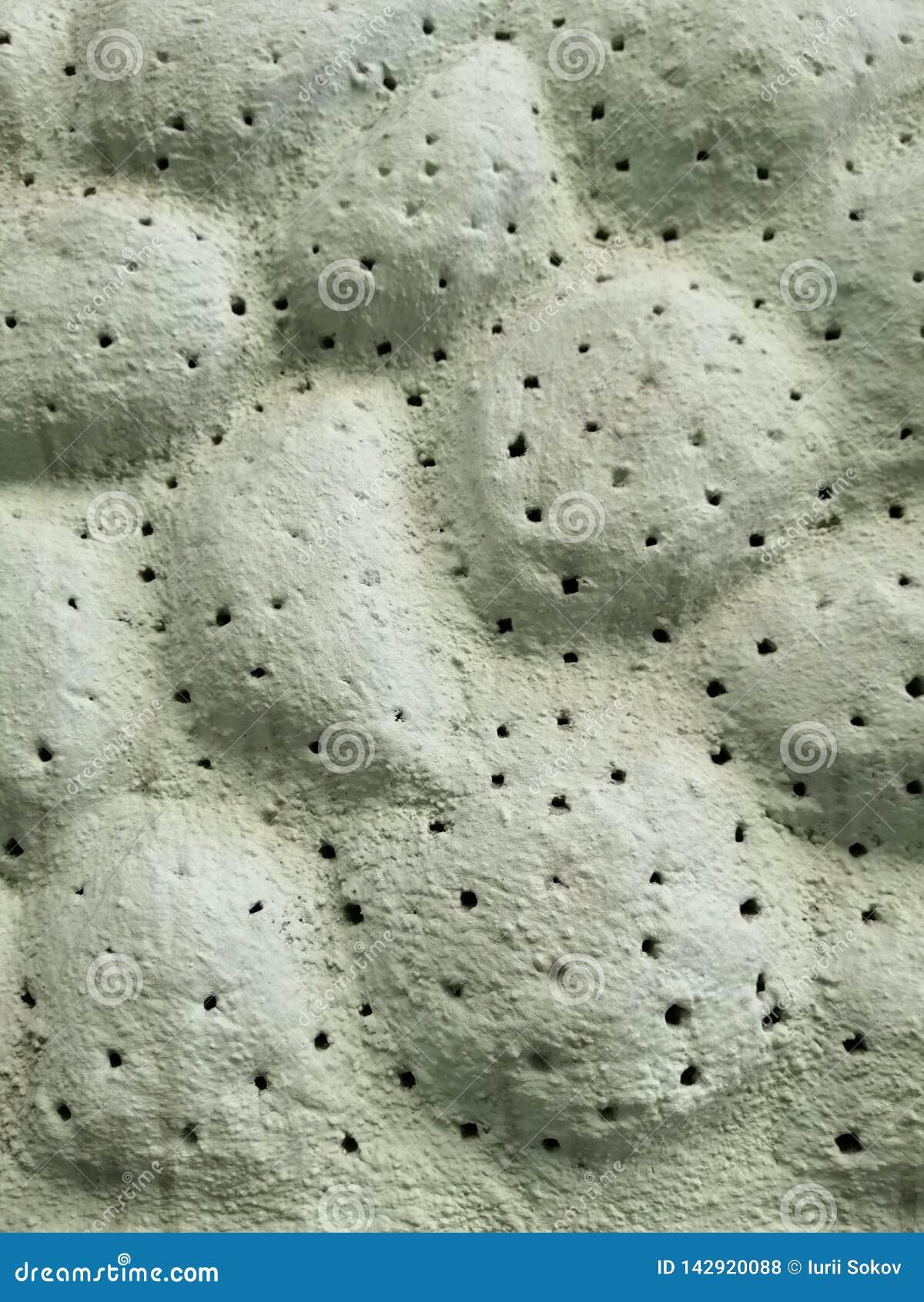 Fragment av väggyttersidan