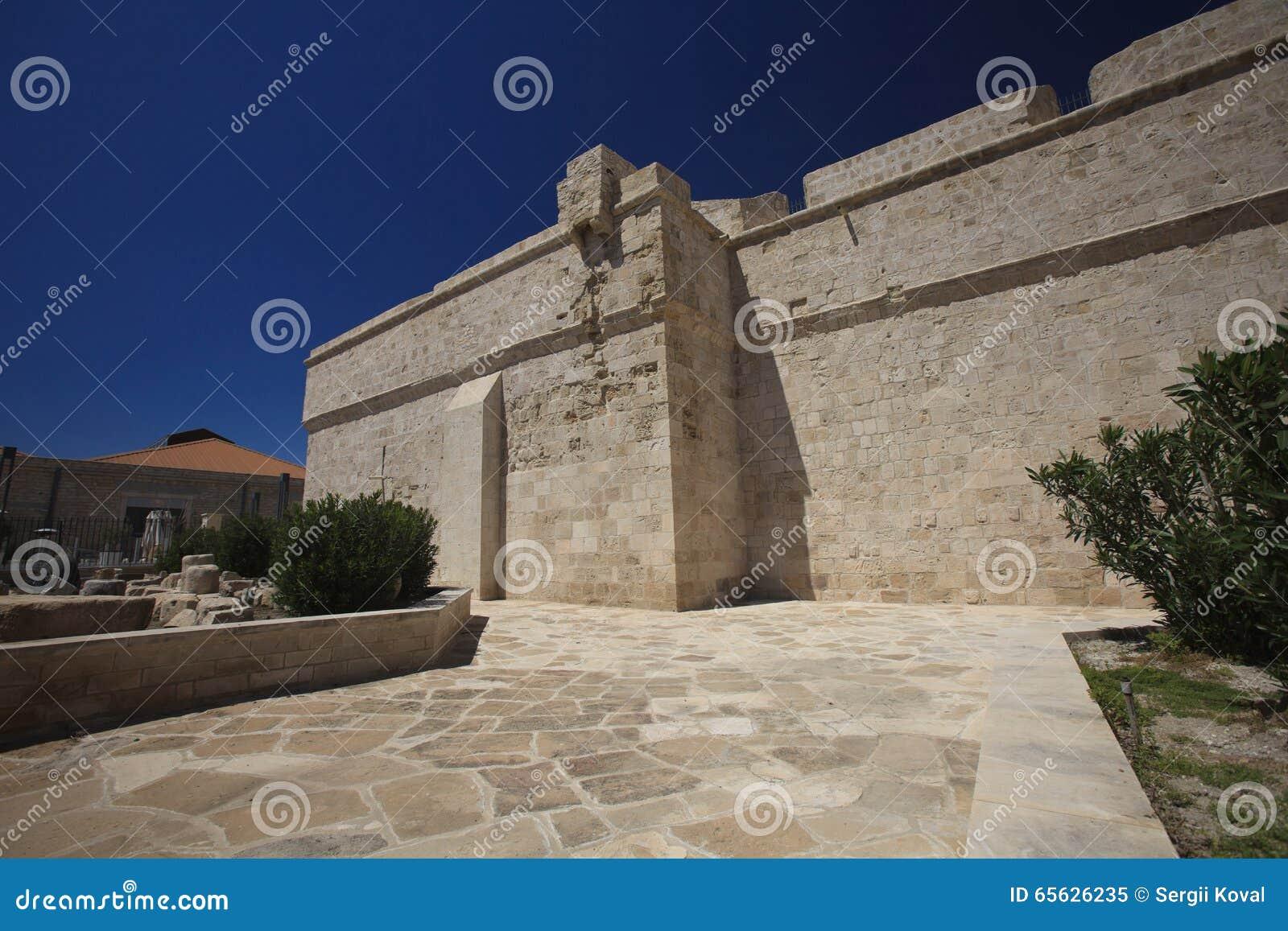 Fragment d un vieux mur de forteresse