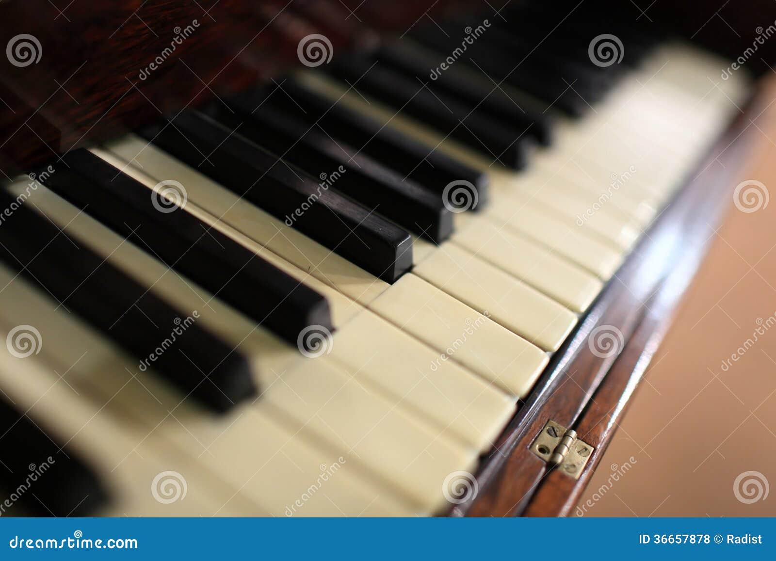 fragment du piano à queue de film