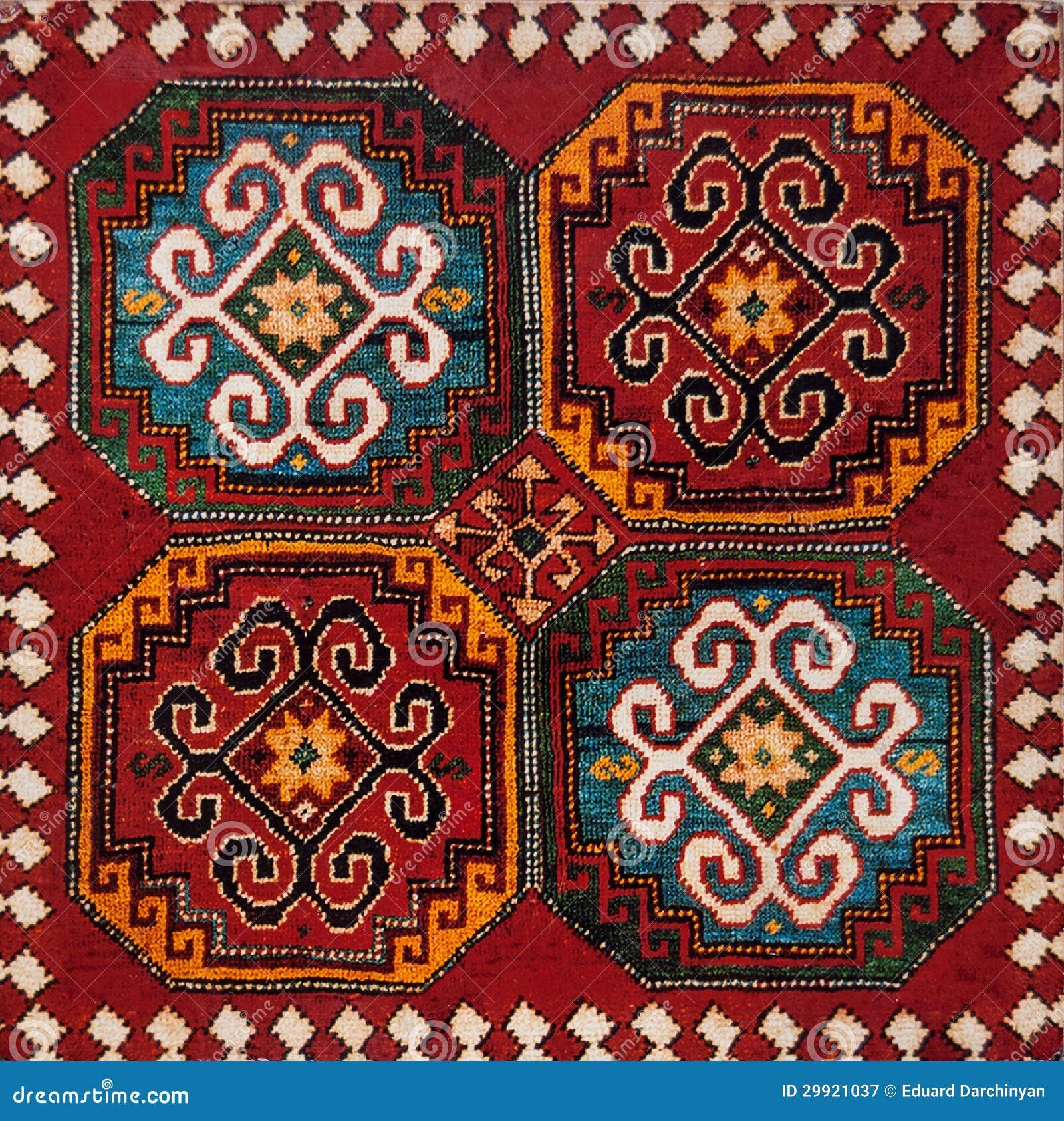 Армянский узор вязание