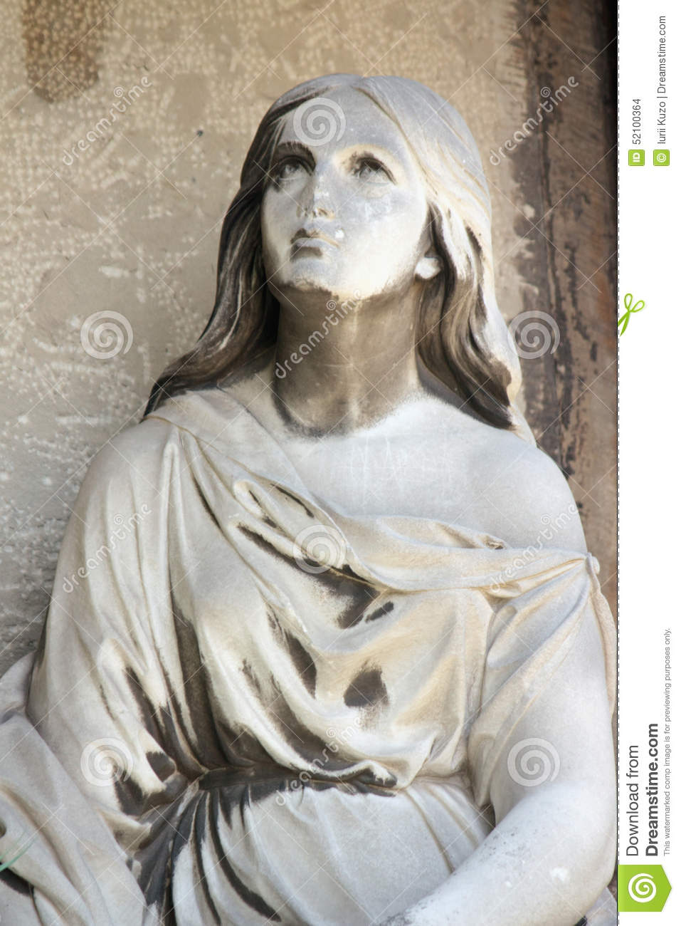 Fragment os statue of Mary Magdalene