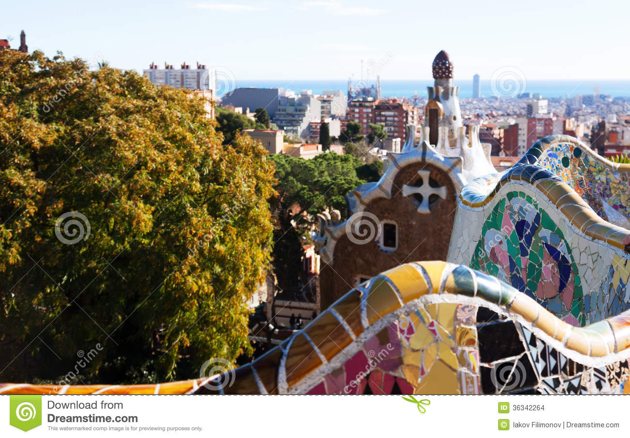 Fragment of park guell barcelona stock images image - Fragments bcn ...
