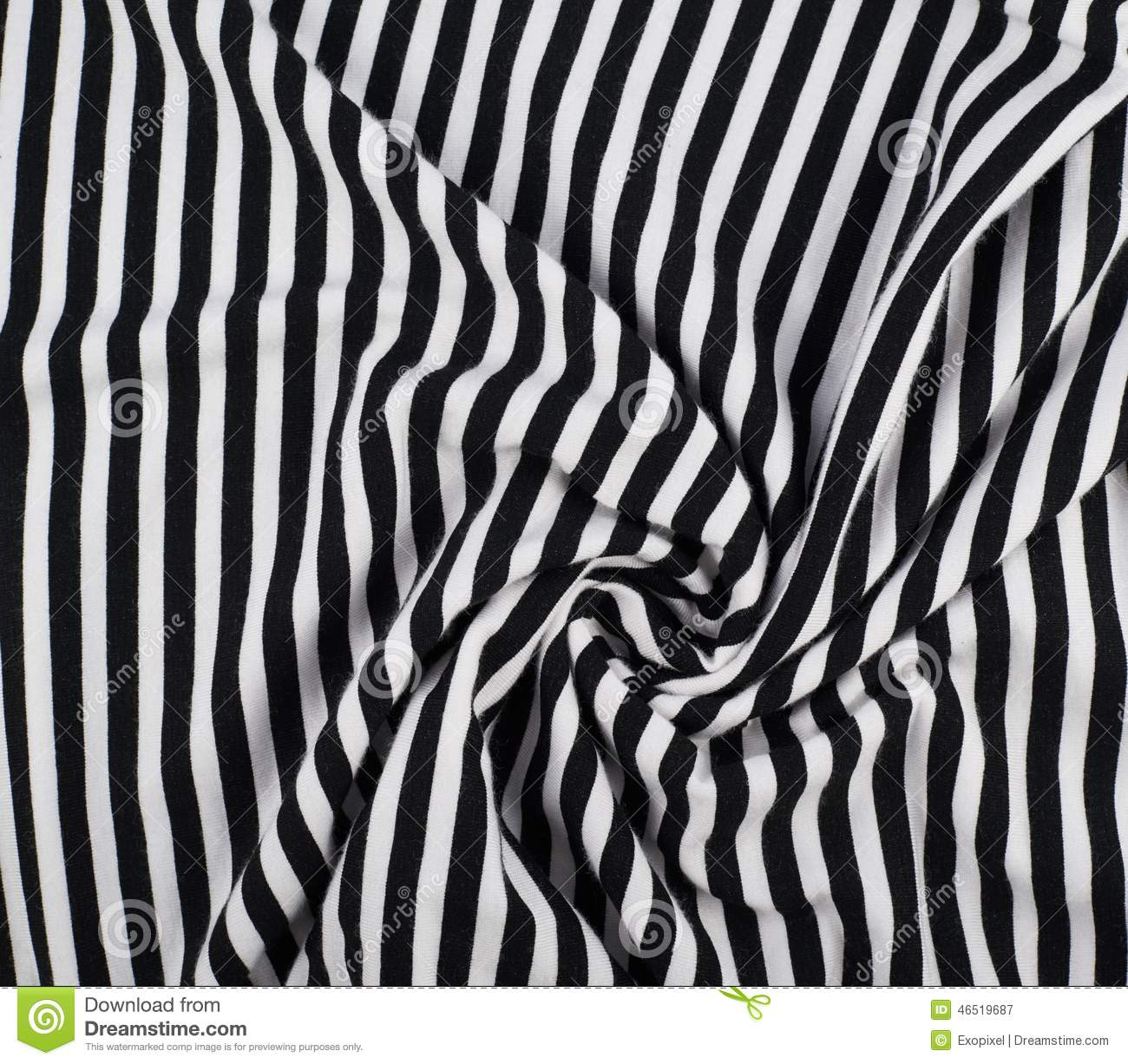 Fragment Of A Striped Fabric Stock Image Image Of Space Blanket