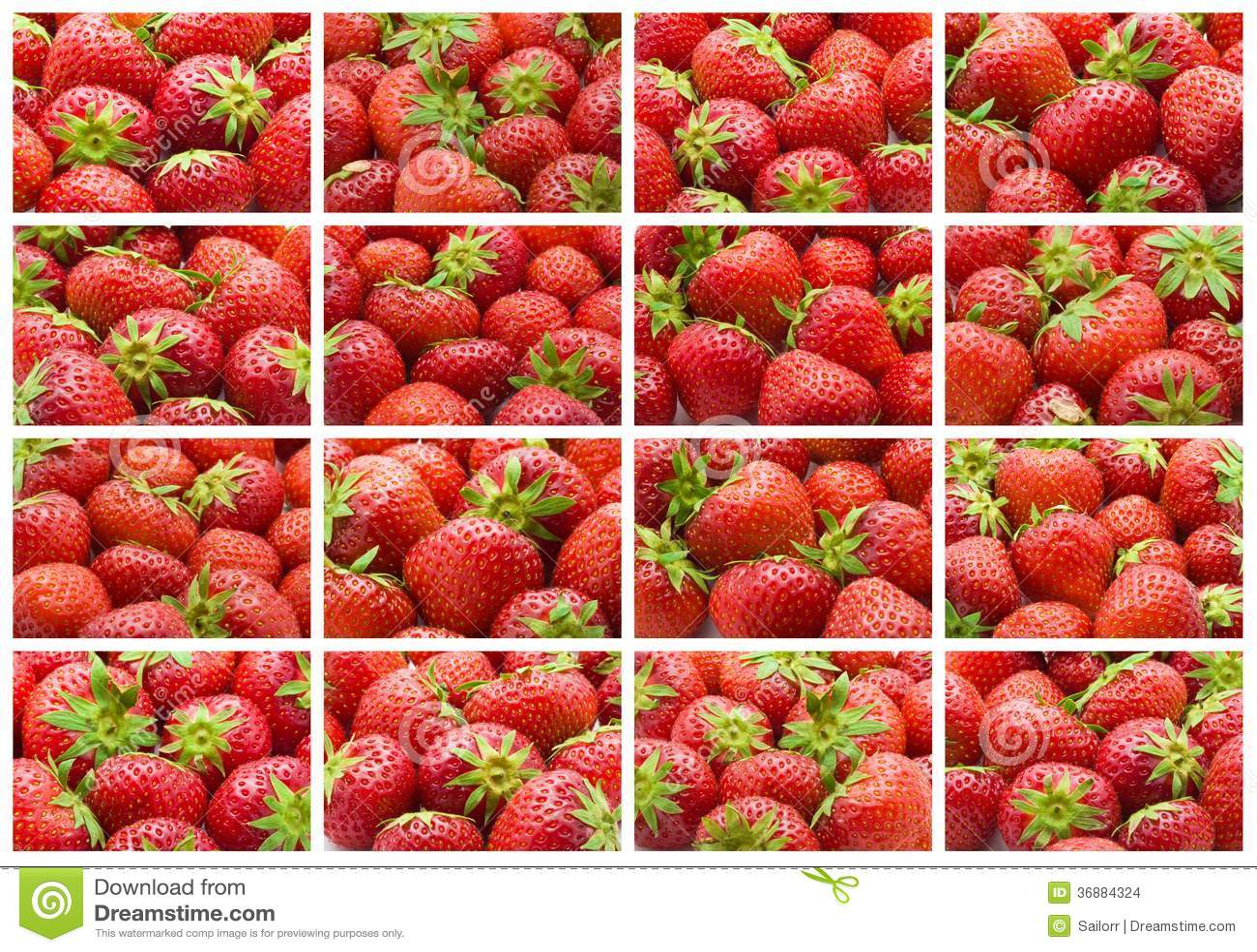Download Fragola fotografia stock. Immagine di vitamina, maturo - 36884324