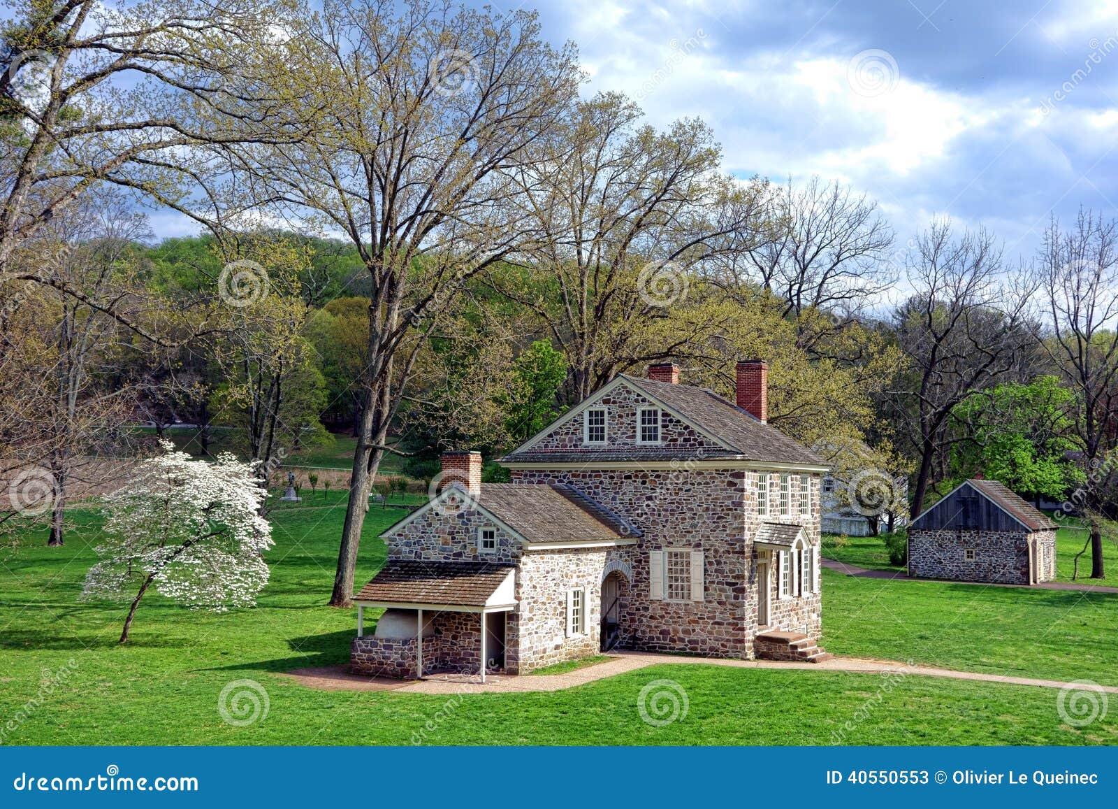 Fragua George Washington Headquarters Site del valle