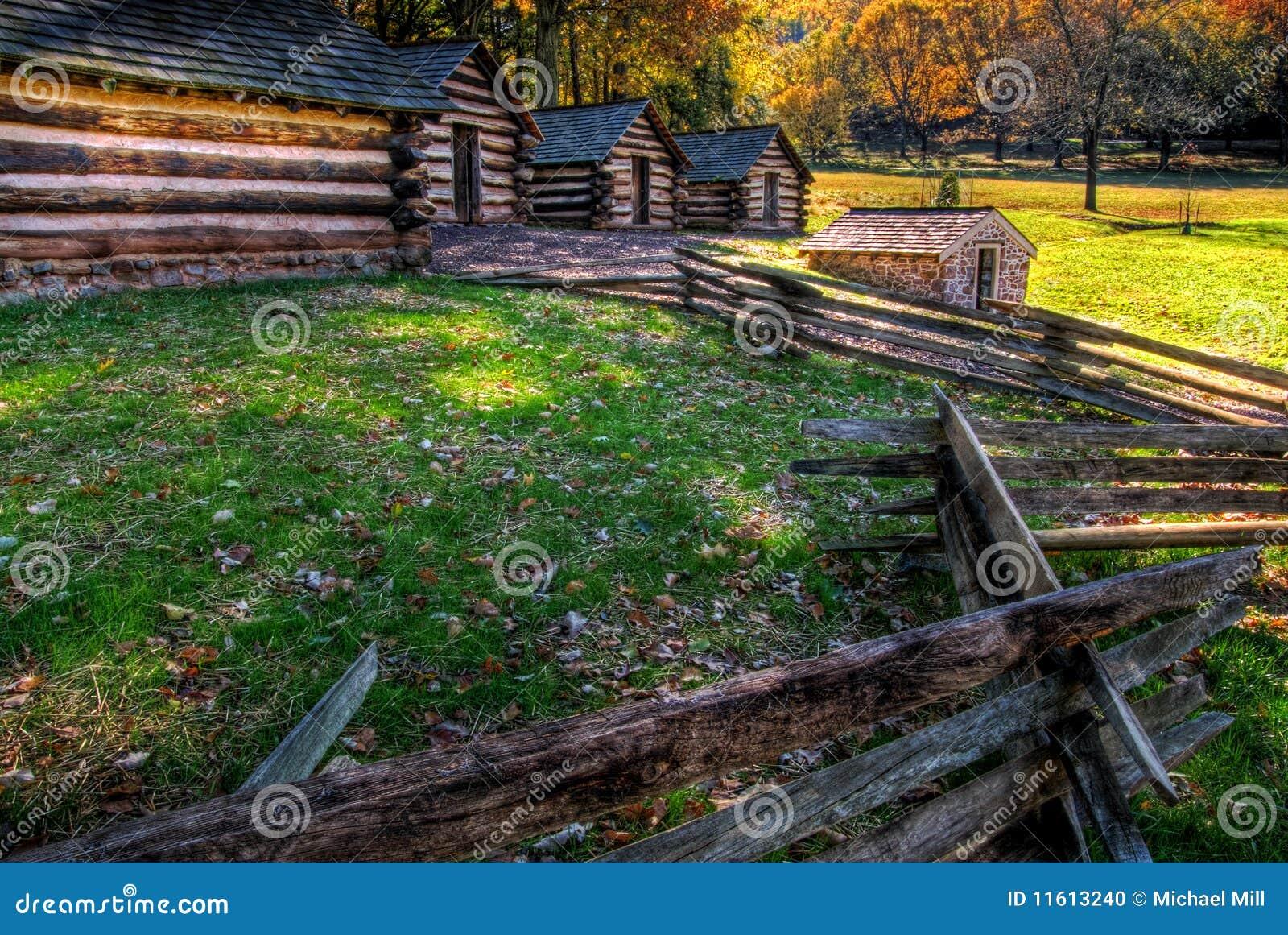 Fragua Pennsylvania del valle del campo del soldado