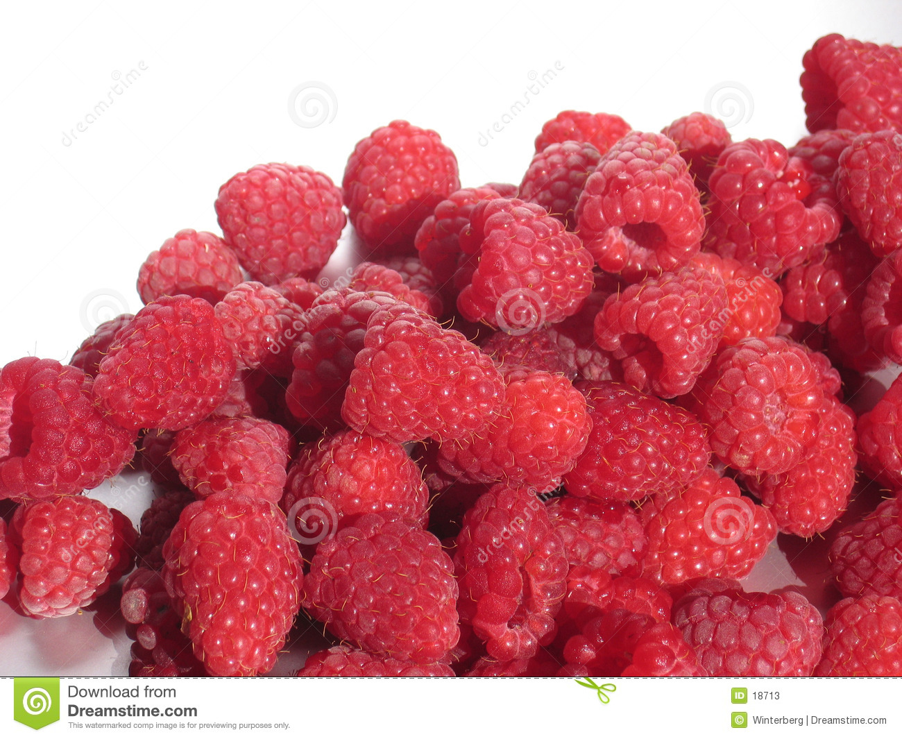 Framboises rouges
