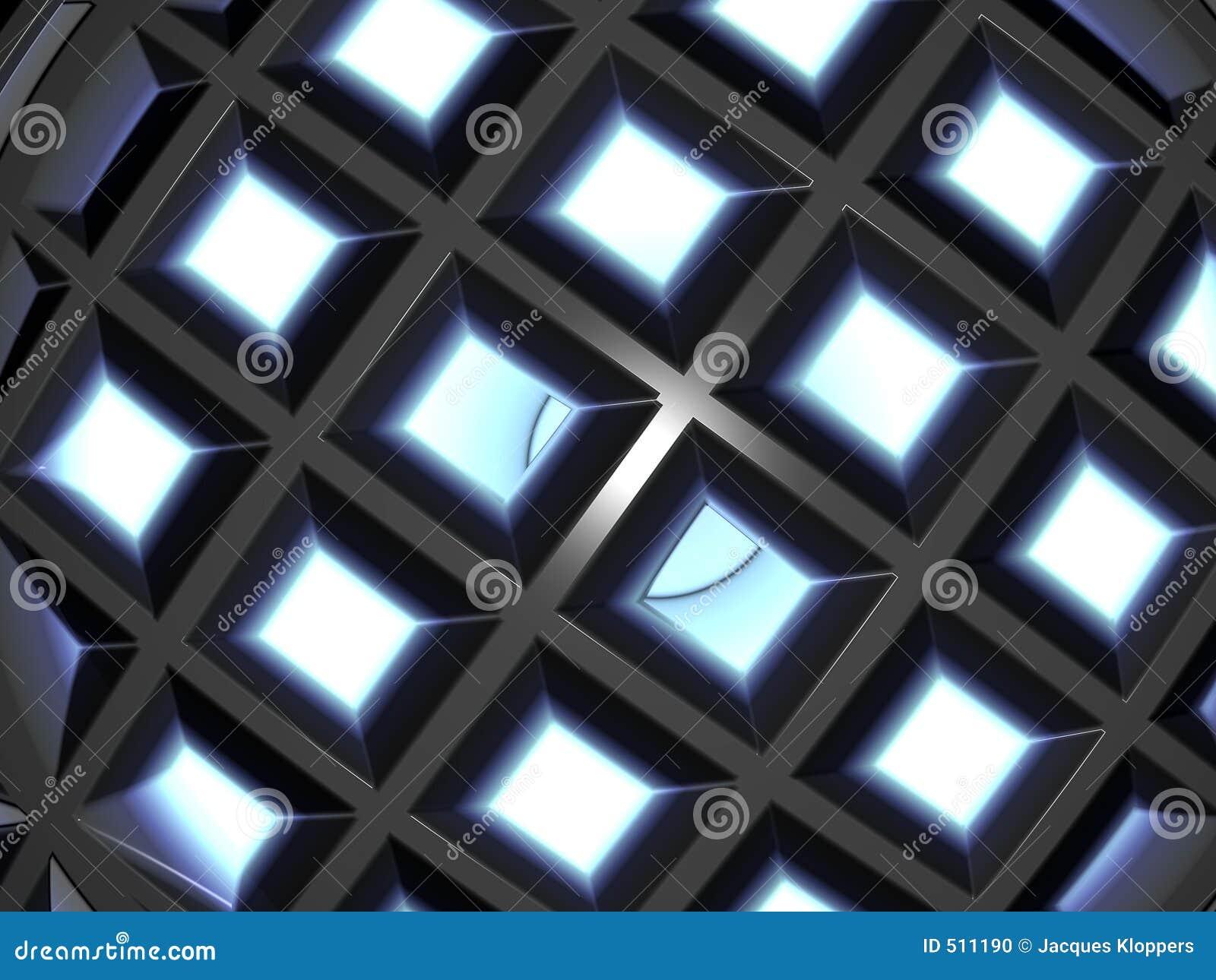 Frambragd abstrakt dator 10