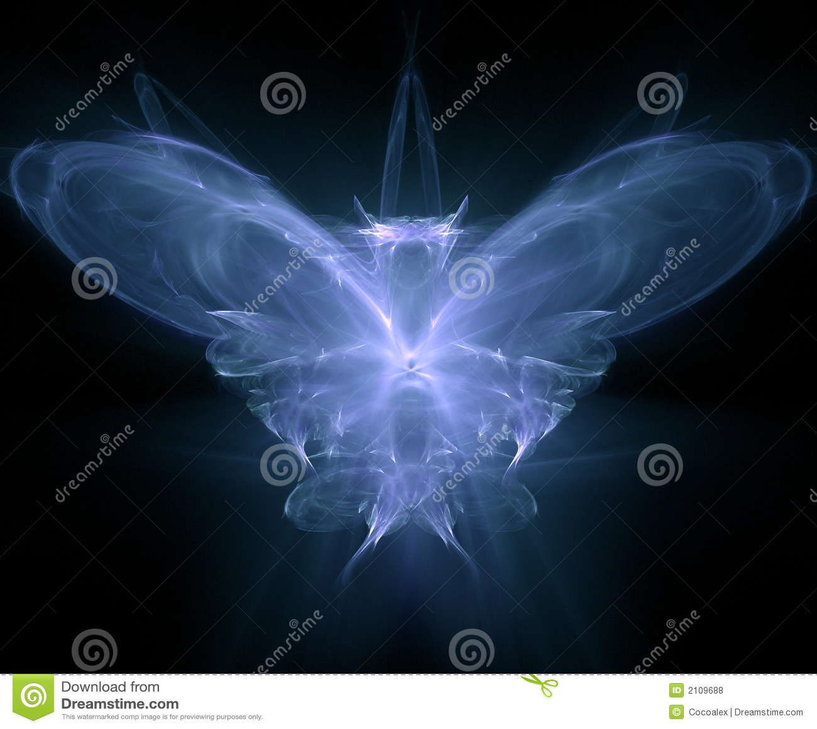Frambragd fjärilsfractal