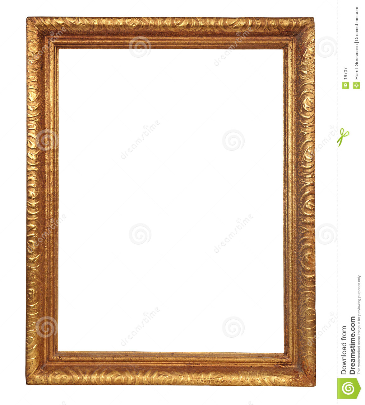 Frame Stock Image Image Of Painting Vintage Wooden