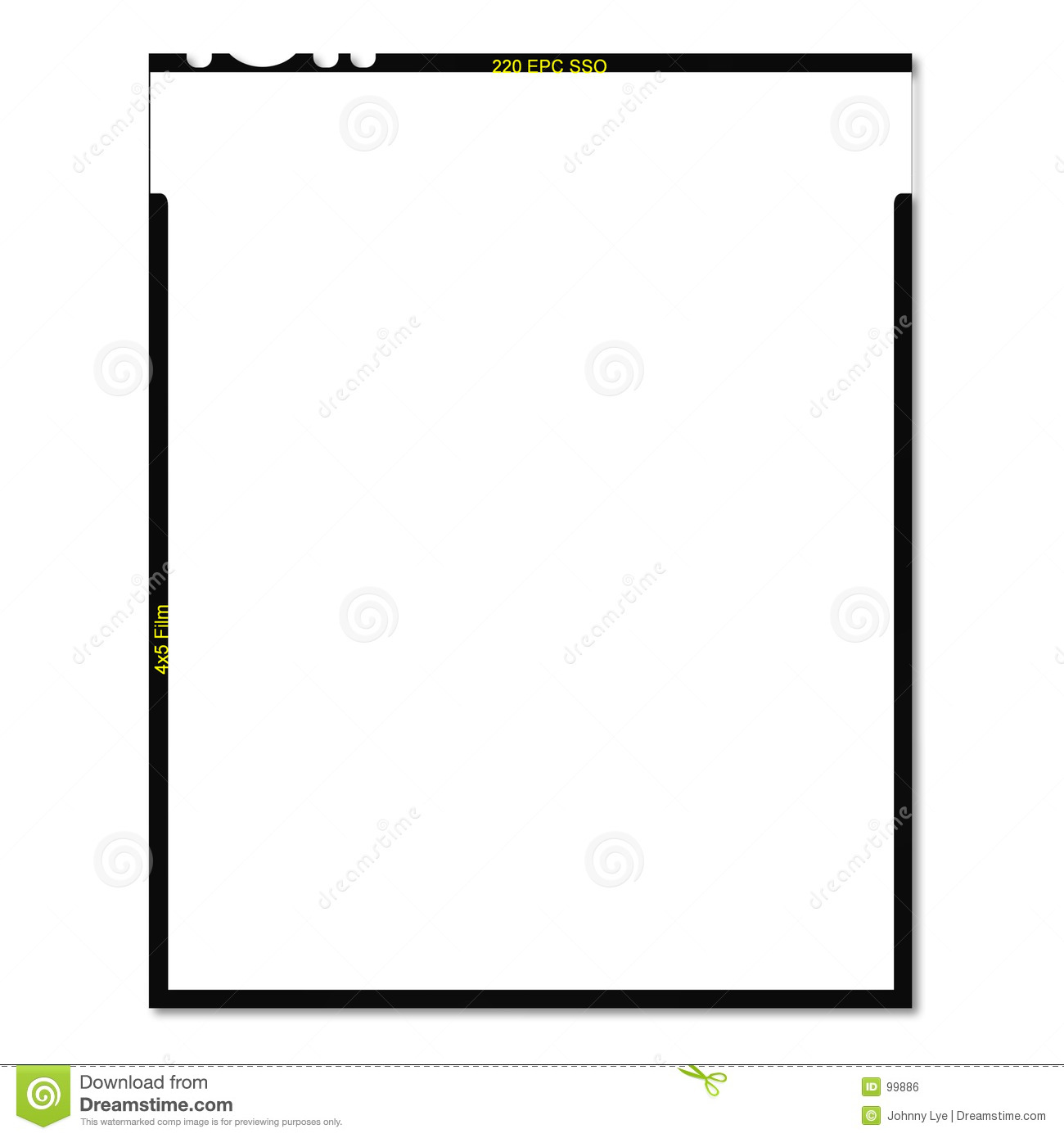 Frame Border Stock Photo Image Of Blank Clear Negative 99886