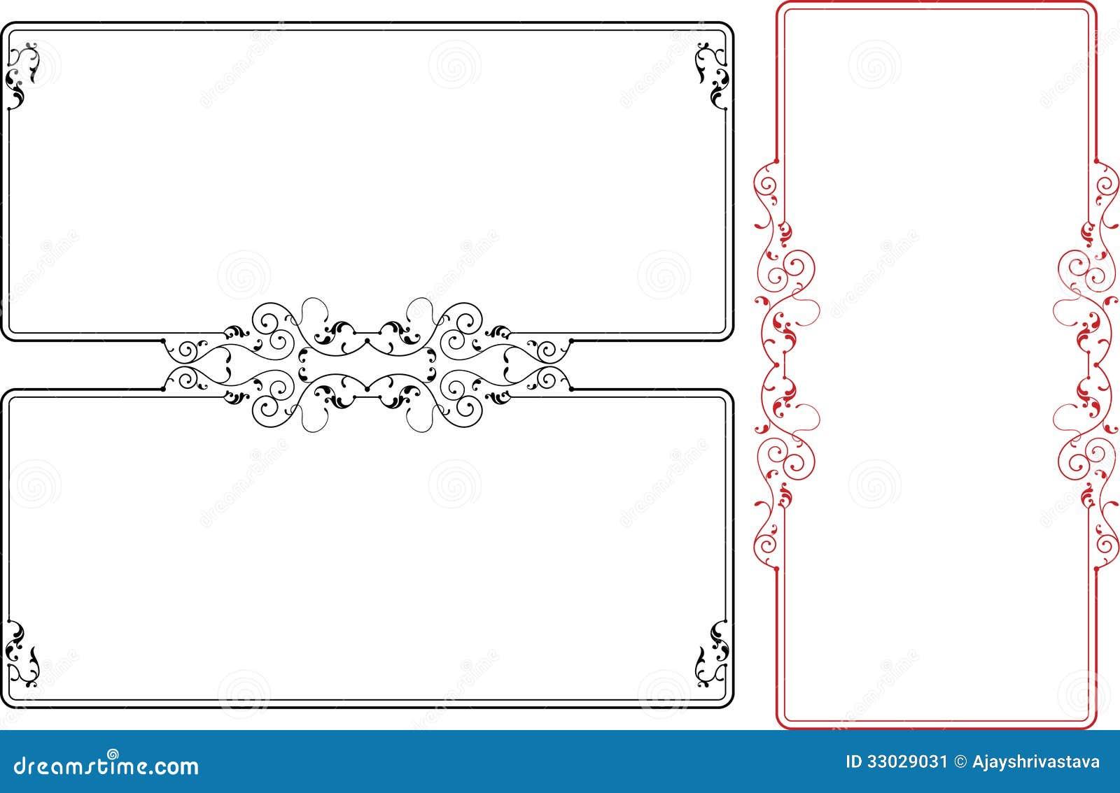 Free ornamental mandala vector download free vector art stock - Frame Border Design Stock Image Image 33029031