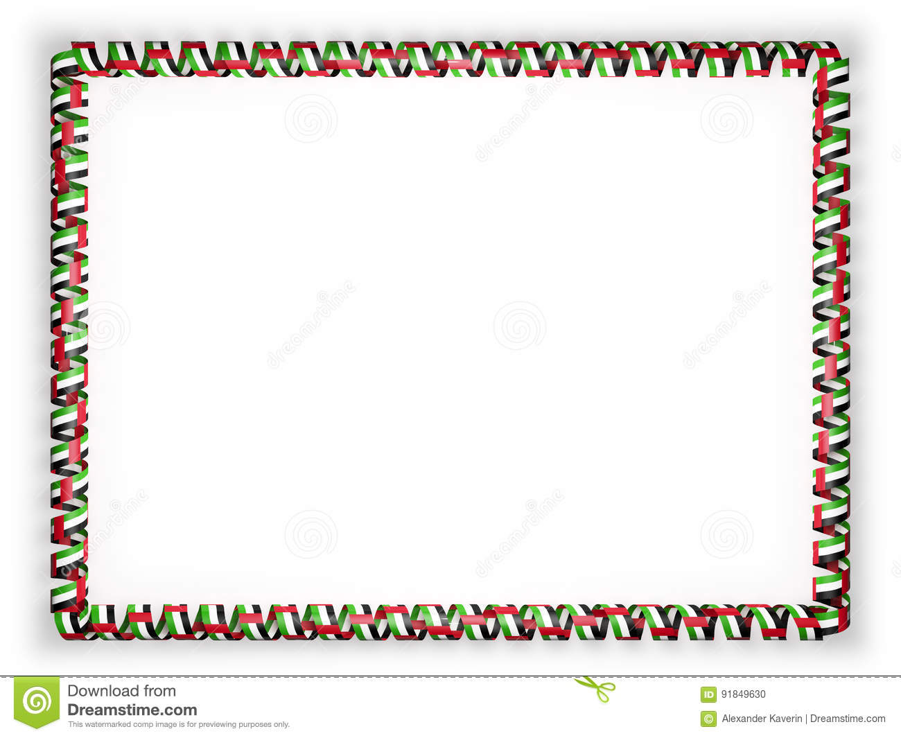 frame and border of ribbon with the united arab emirates ribbon banner clipart png ribbon banner clipart red