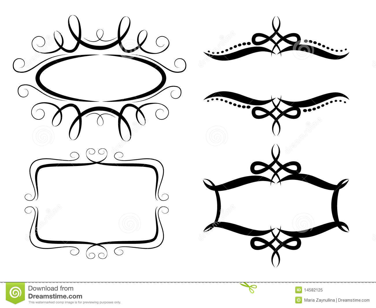 Frame Collection Royalty Free Stock Photo Image 14582125