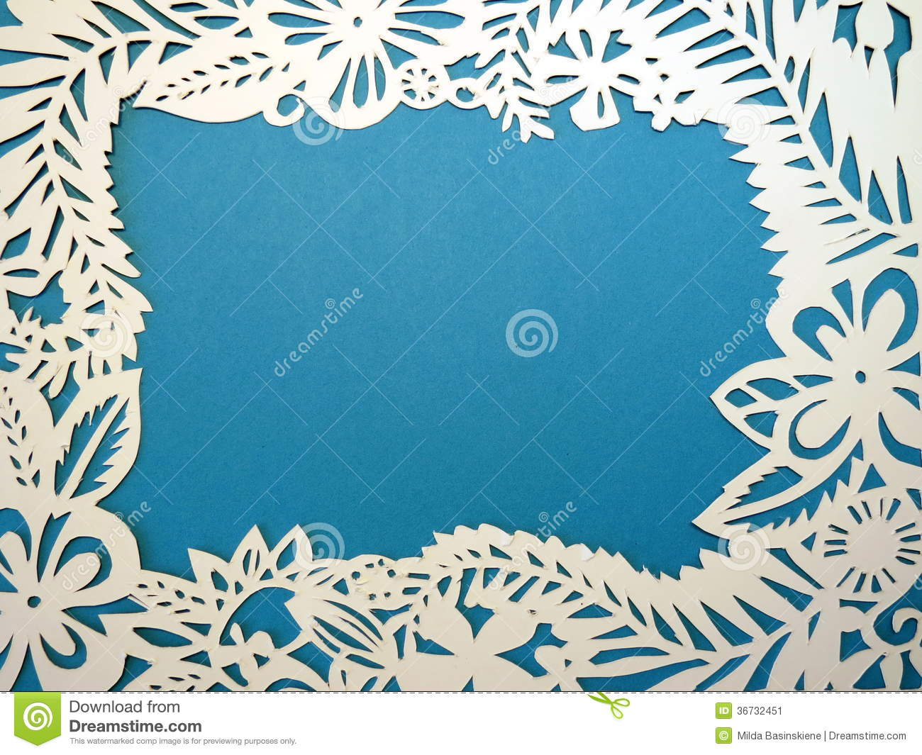 Frame cut from paper. stock image. Image of shape, detail - 36732451