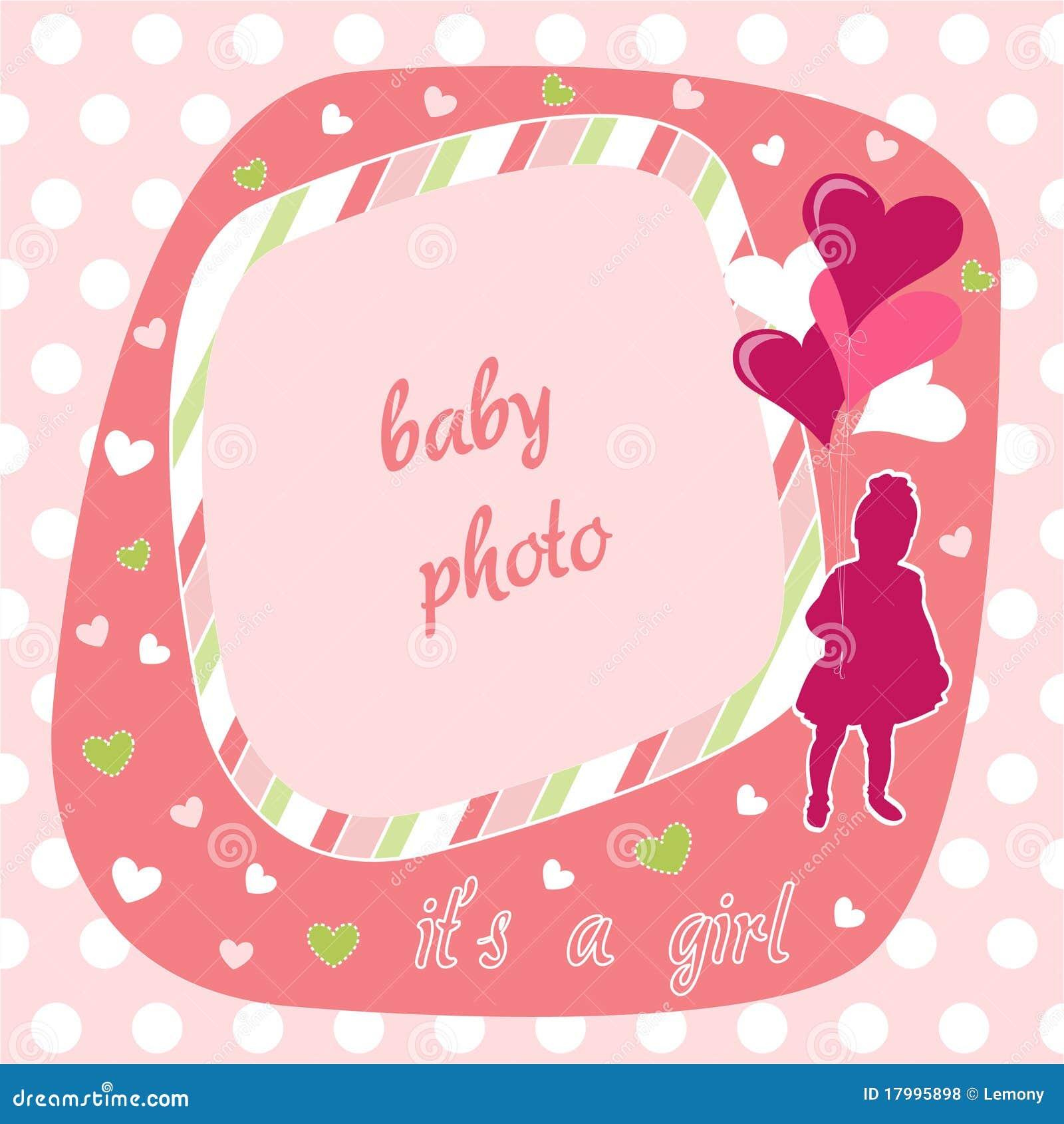 Frame da foto do bebé