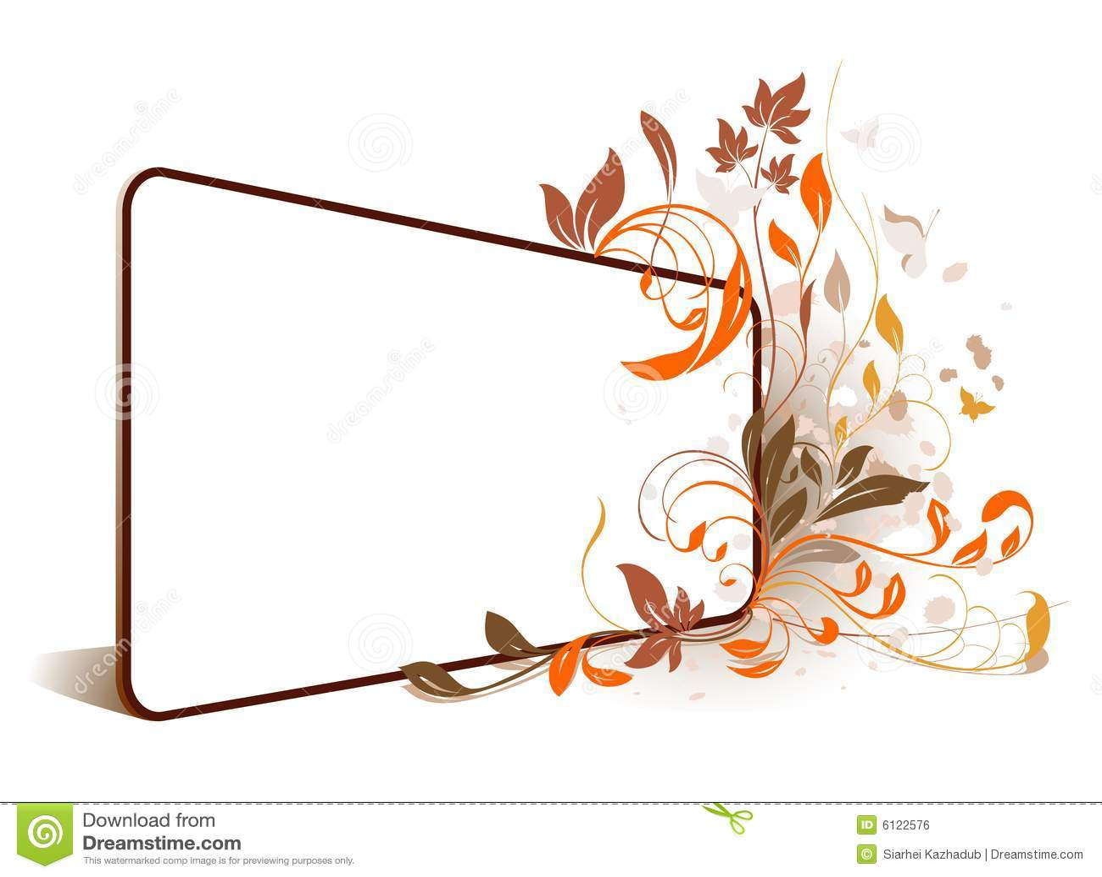 Frame da perspectiva da flor