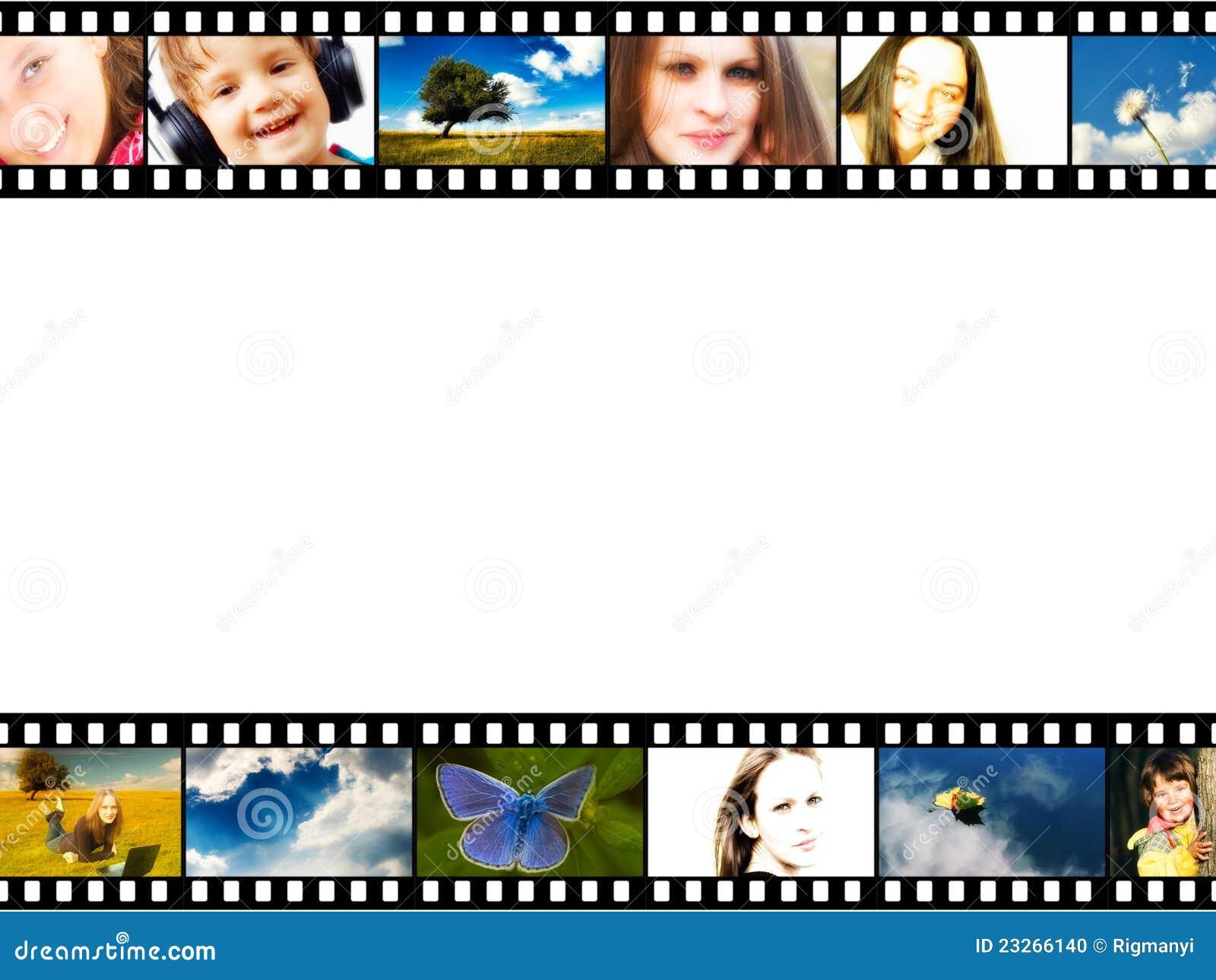 Frame da tira da película