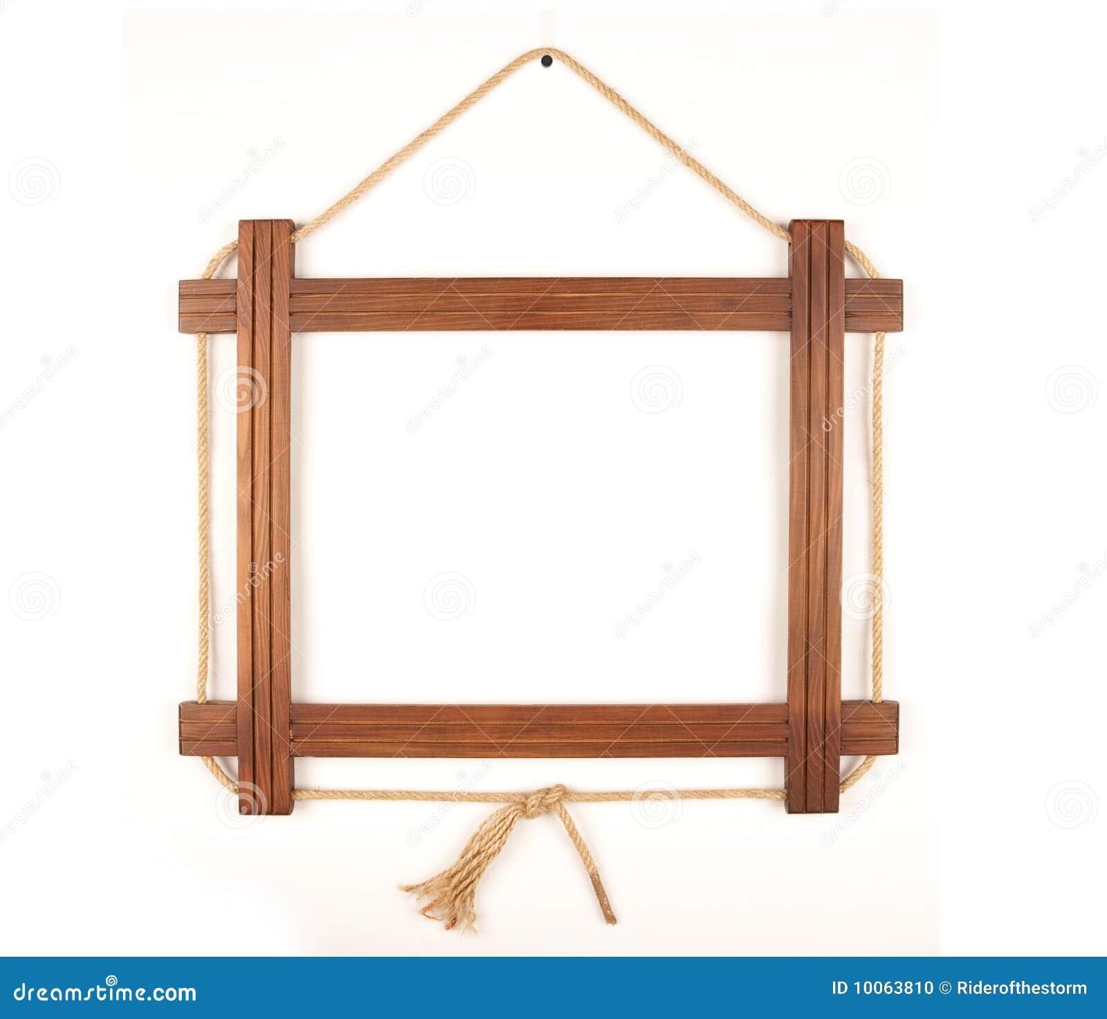 Frame de madeira