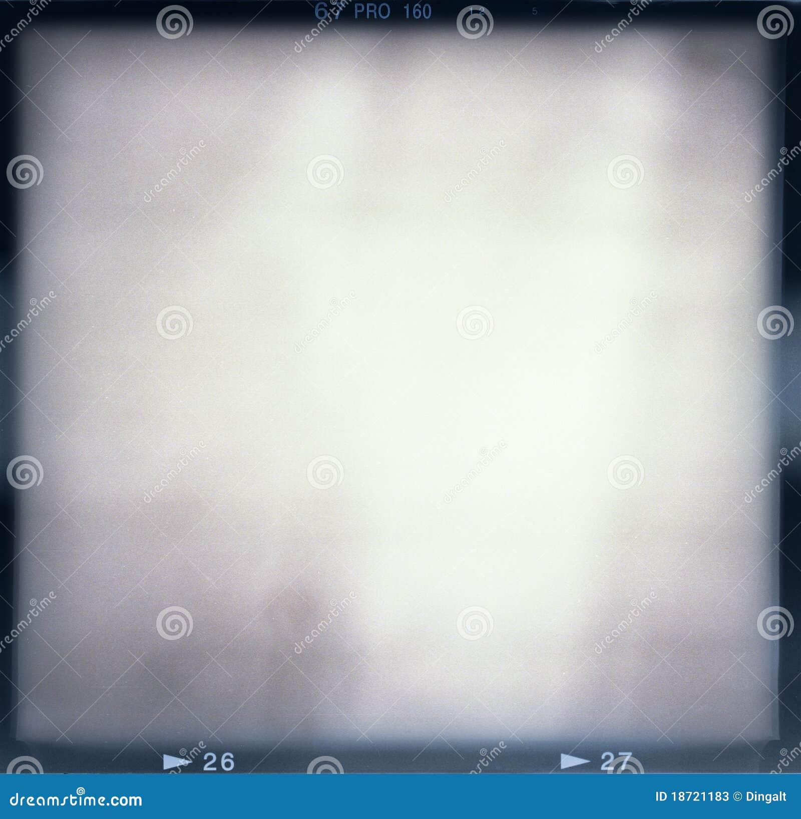 Frame de película em branco