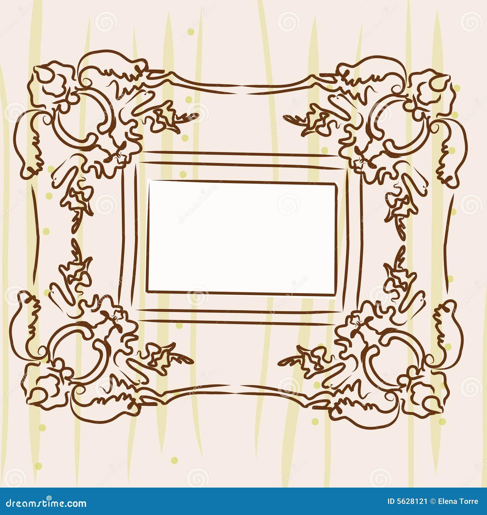 Frame de retrato agradável
