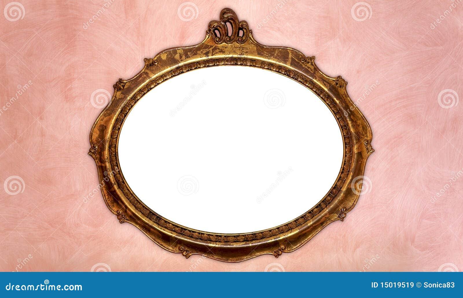 Frame de retrato antigo