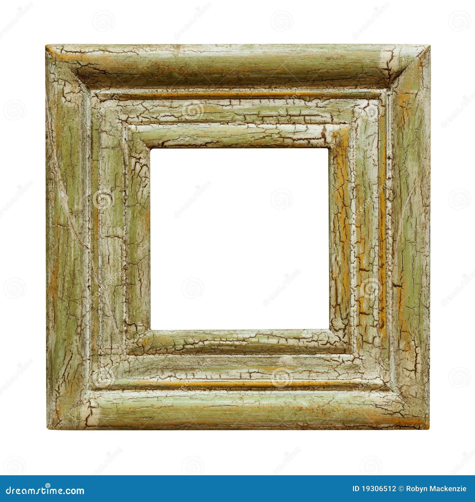 Frame de retrato quadrado afligido