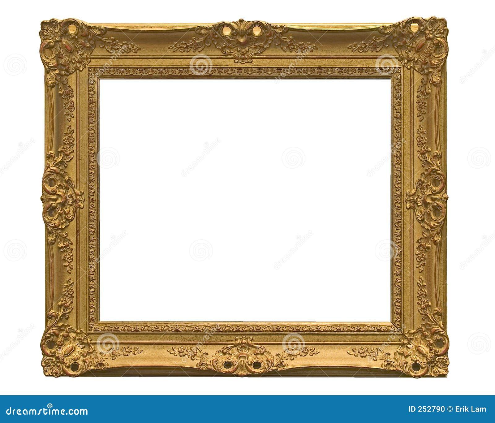 Frame de retrato vazio (com trajeto de grampeamento)