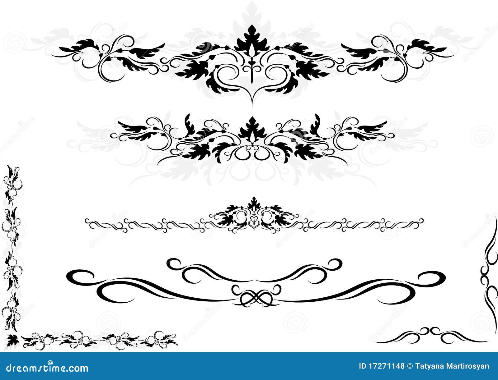Imagem Vetorial Gratis Mapa Pinos Illustrator Titular: Frame Decorativo Do Ornamento, Canto. Artes Gráficas