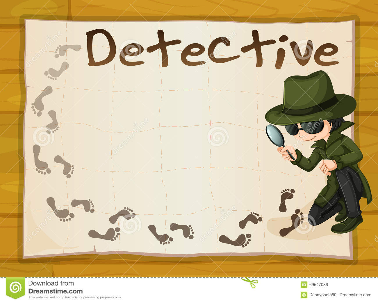 Image result for detective show clipart