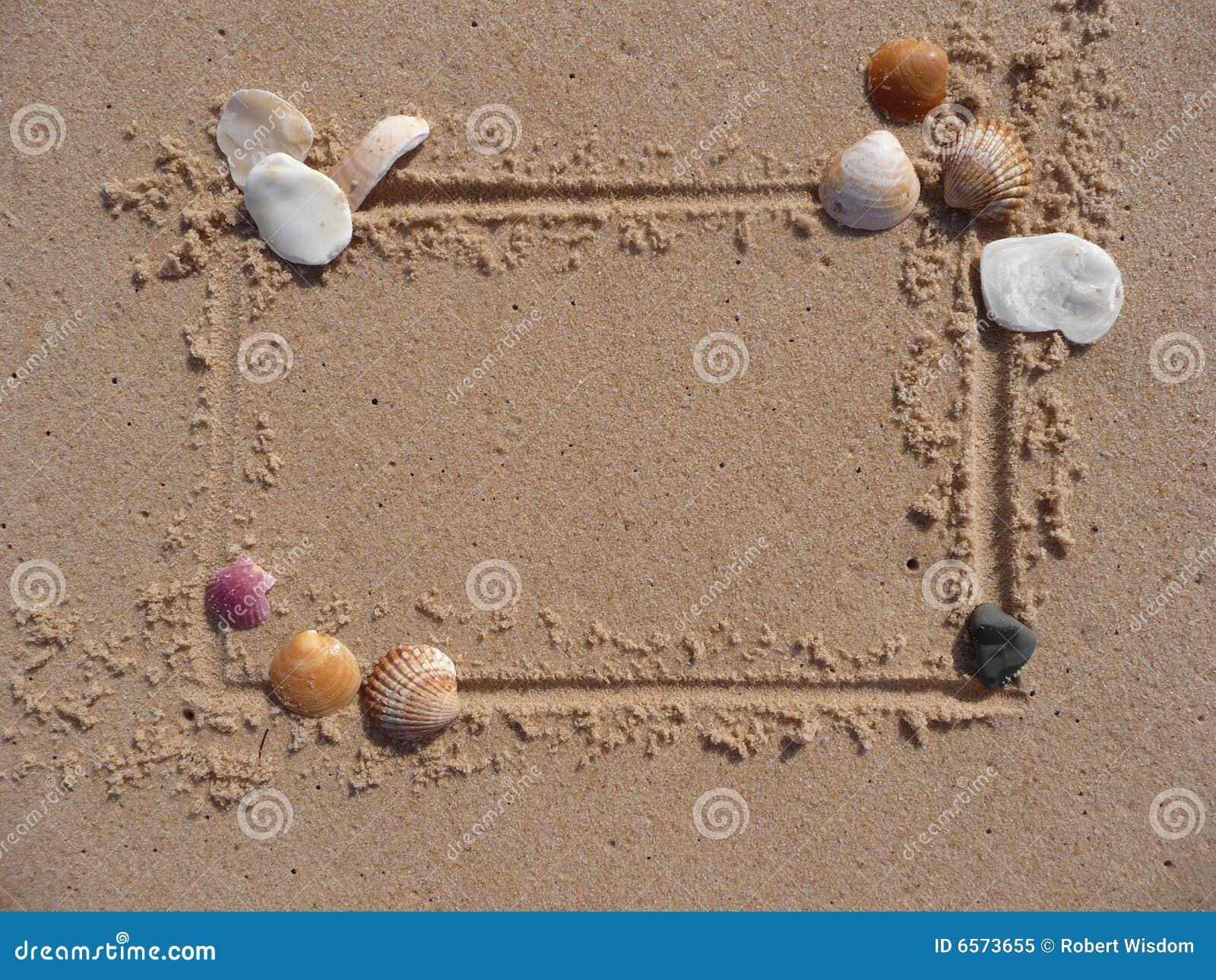 Frame do escudo e da areia