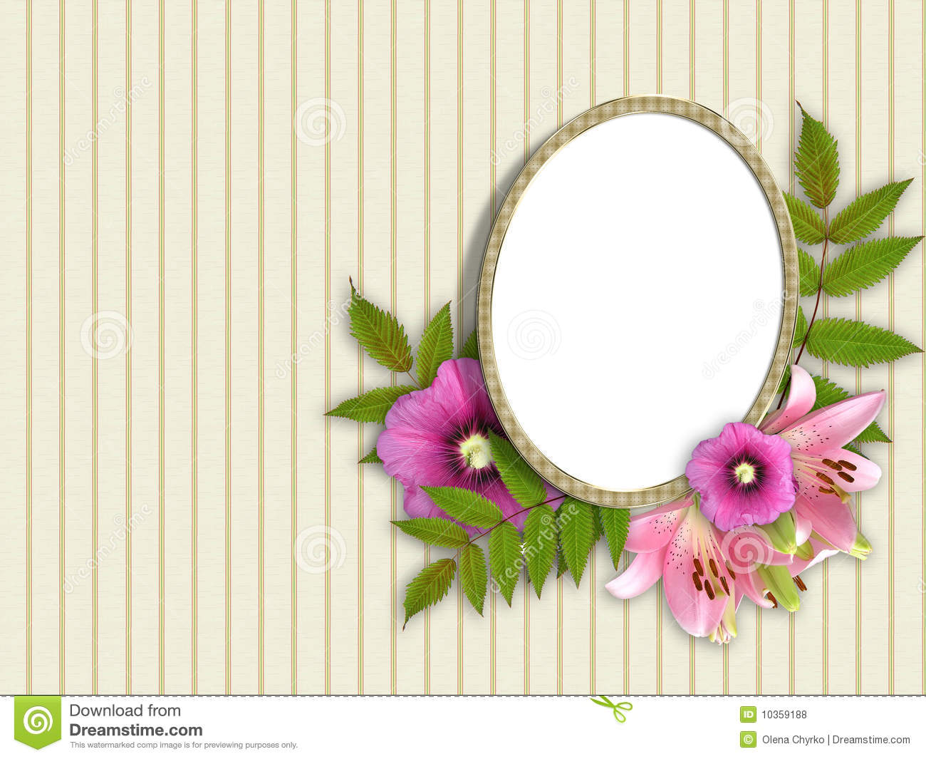 Frame and floral beautiful bouquet stock illustration illustration download comp izmirmasajfo