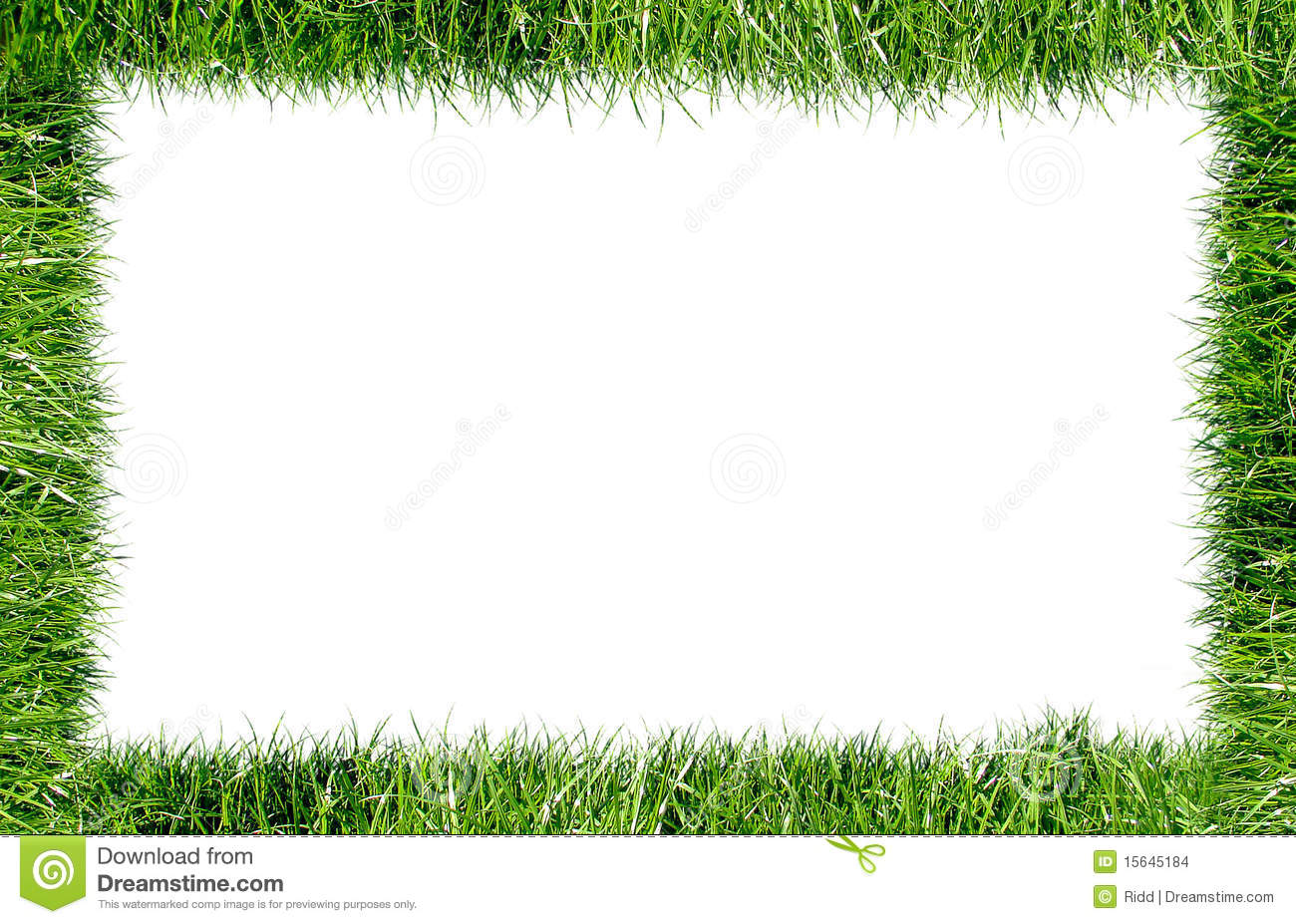 Frame Grass Stock Images Image 15645184
