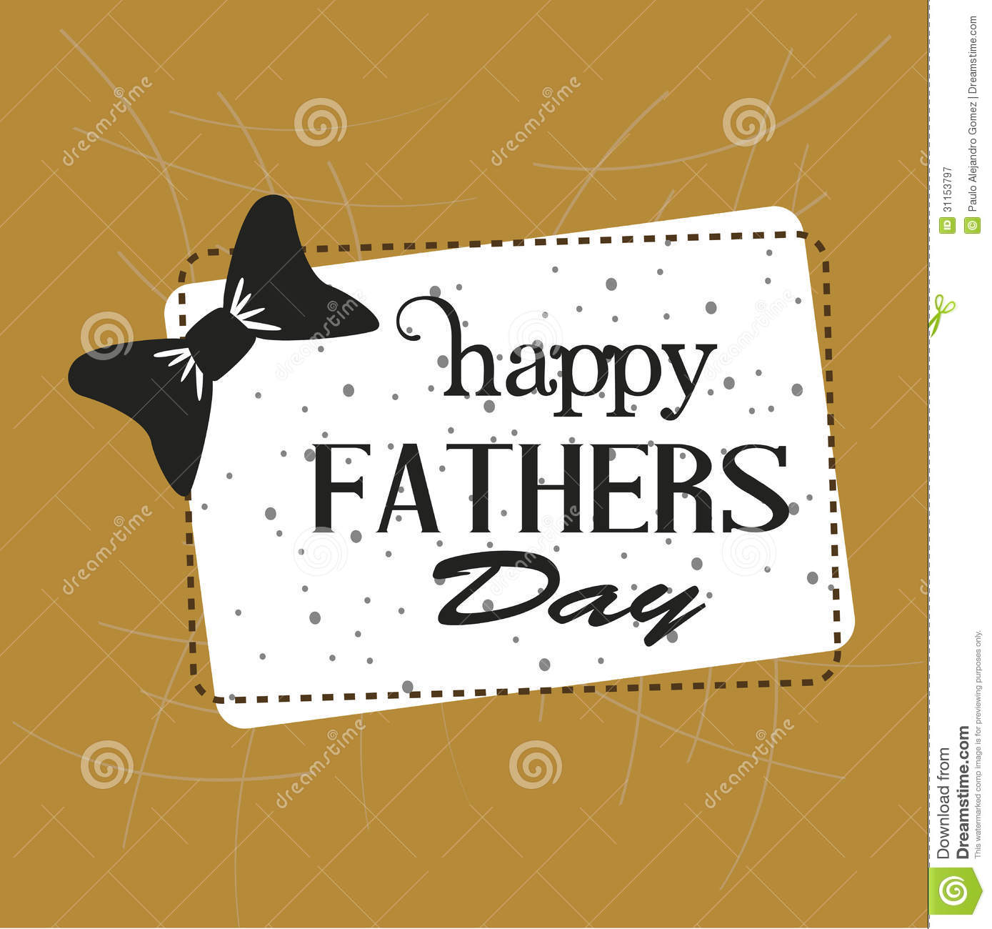Frame happy fathers day stock vector. Illustration of artwork - 31153797