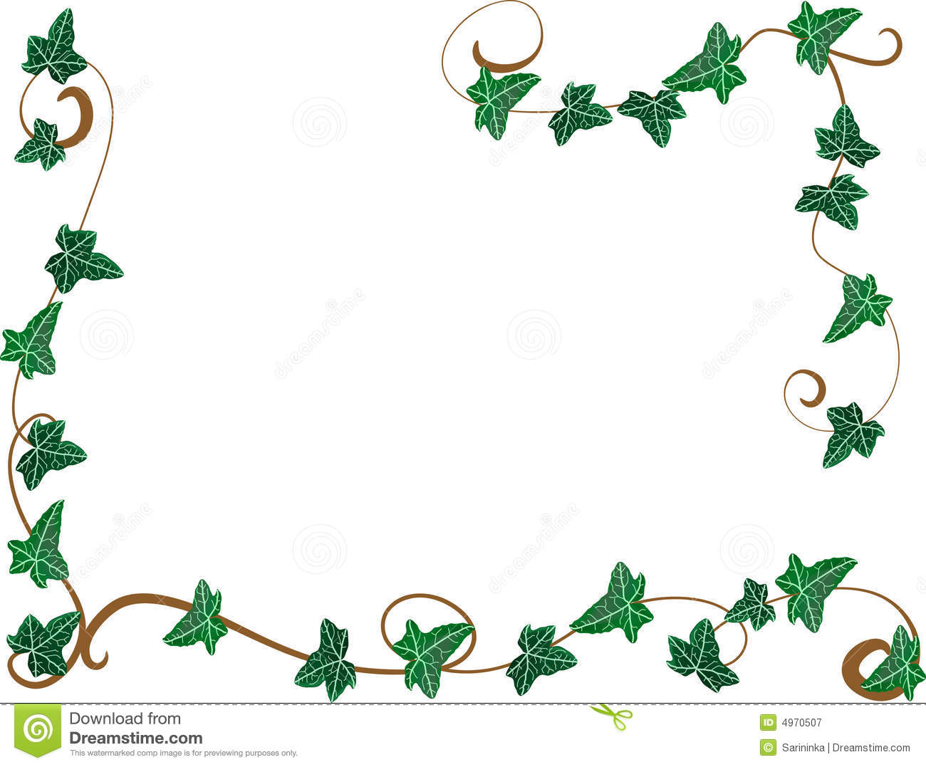 frame from ivy stock vector illustration of abstraction Free Fall Border Clip Art Fancy Fall Borders Clip Art Free Download