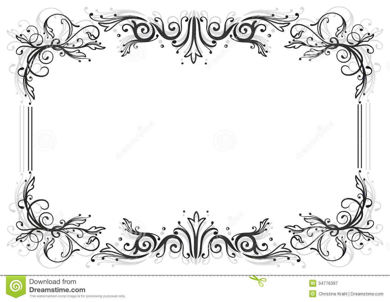 Frame Leaves Royalty Free Stock Photography