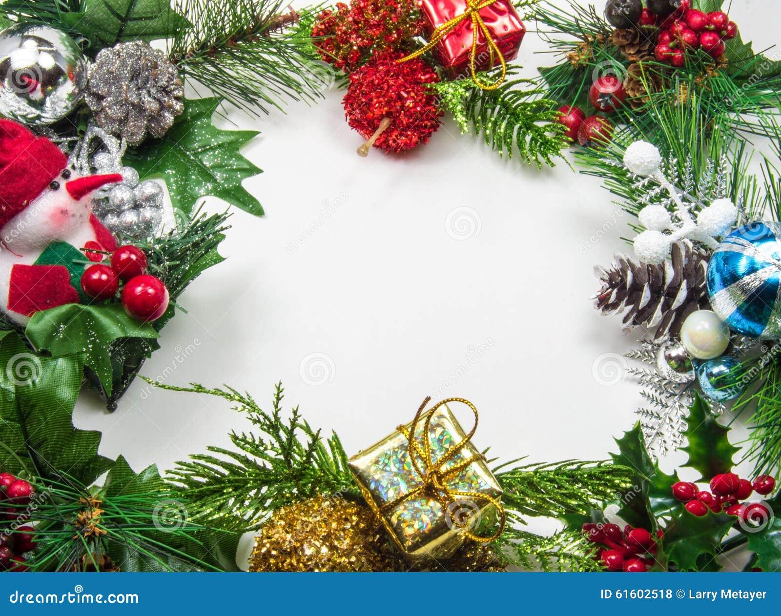 Frame mágico azul do Natal