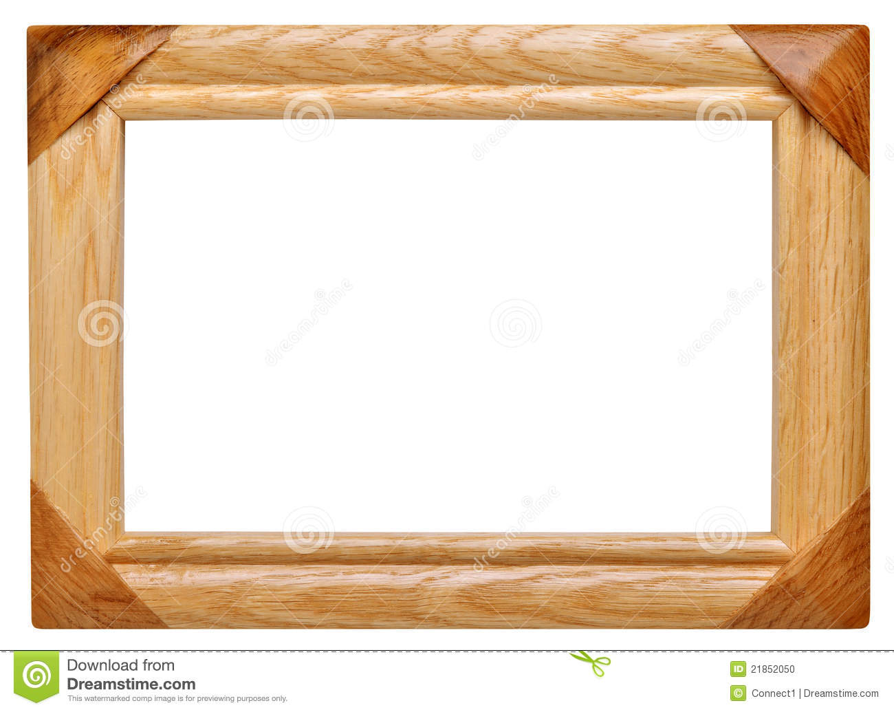 Frame made of wood stock photo. Image of exhibition - 21852050