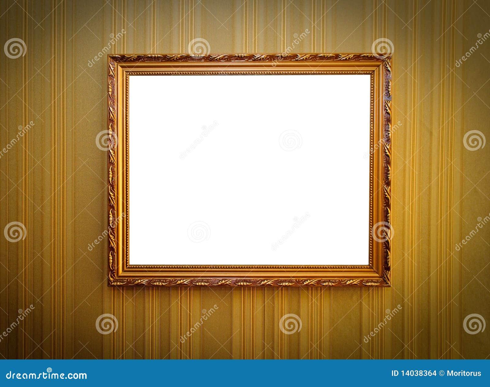 Frame op de muur