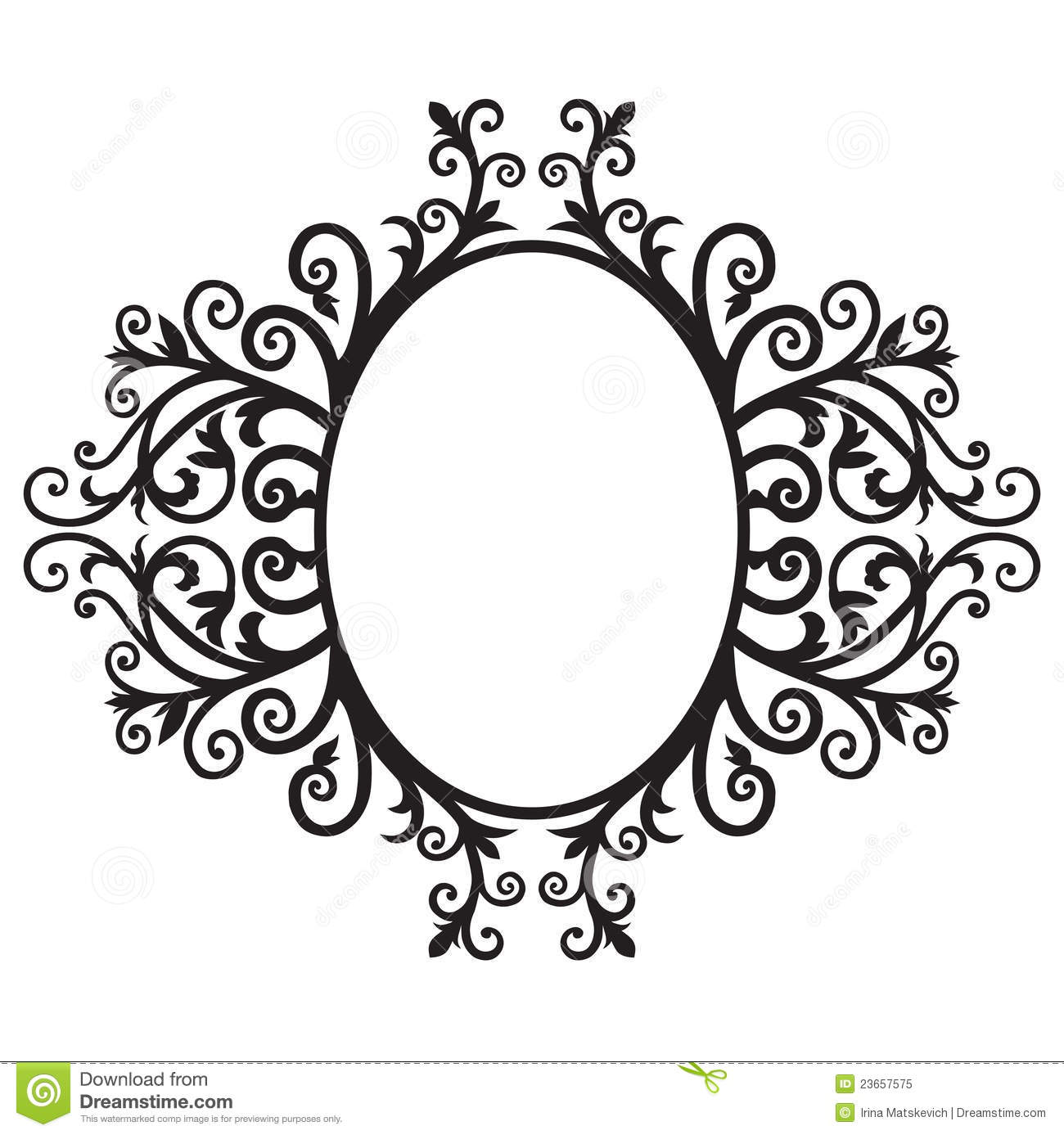 Frame ornament-02 stock illustration. Illustration of graphic - 23657575