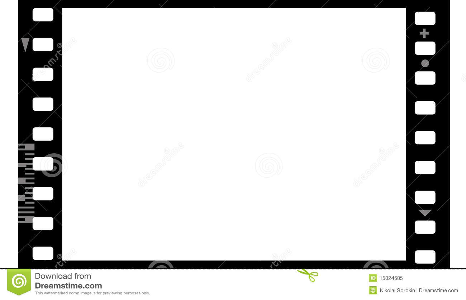 Frame Of Photographic Film Seamless Stock Illustration