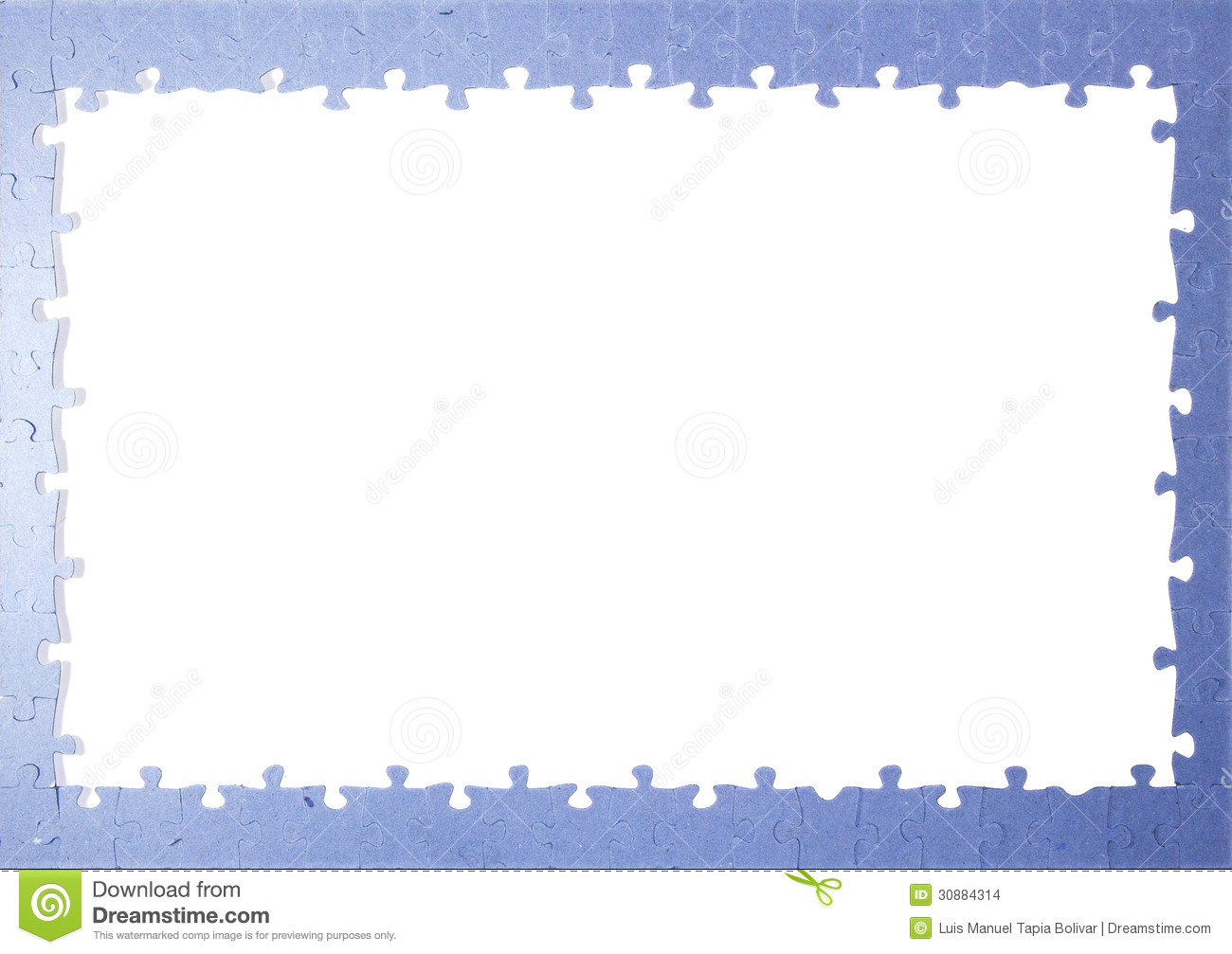 Frame puzzle pieces stock photo image of frame pieces 30884314 frame puzzle pieces jeuxipadfo Images