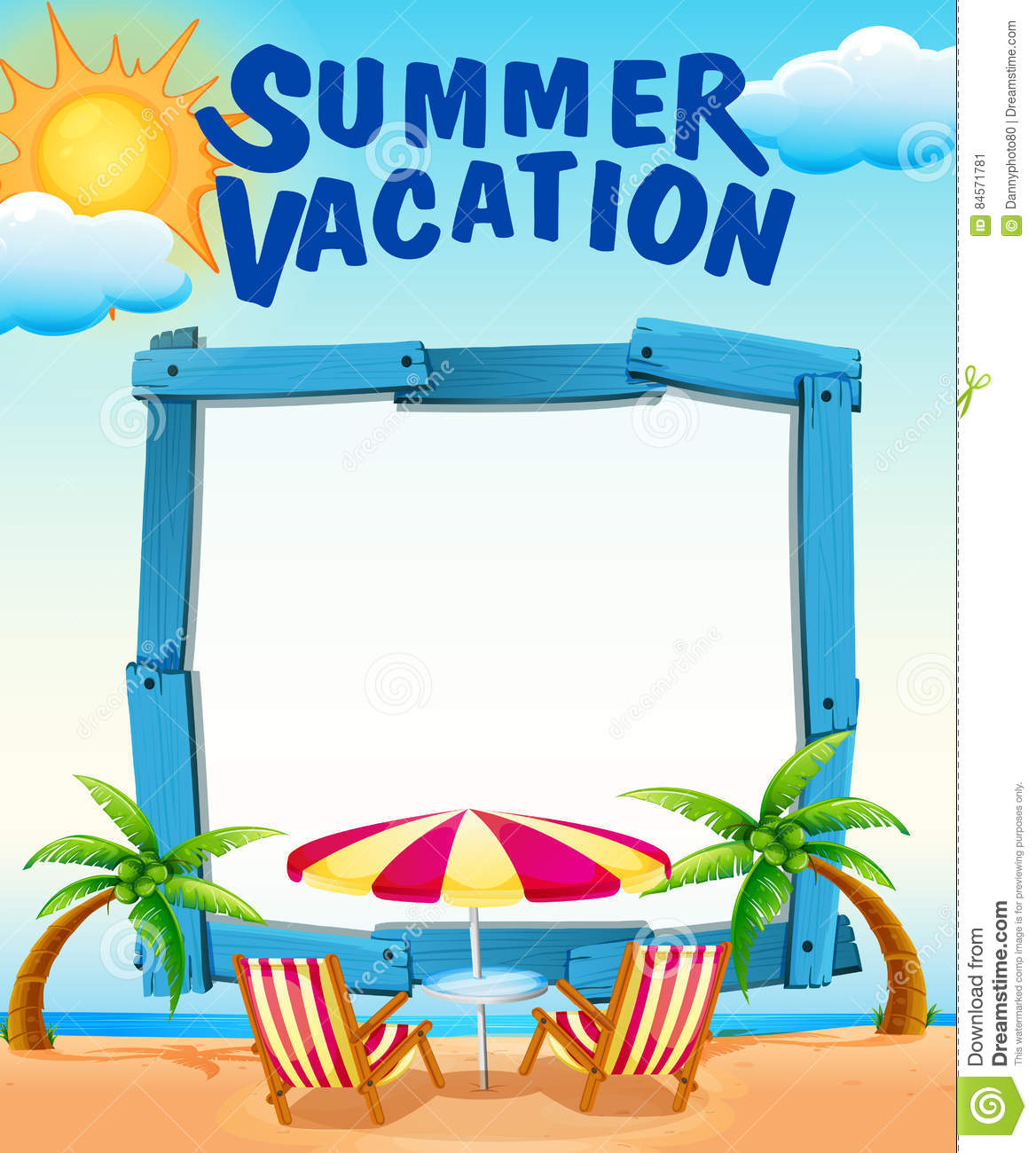 summer vacation clipart - photo #32