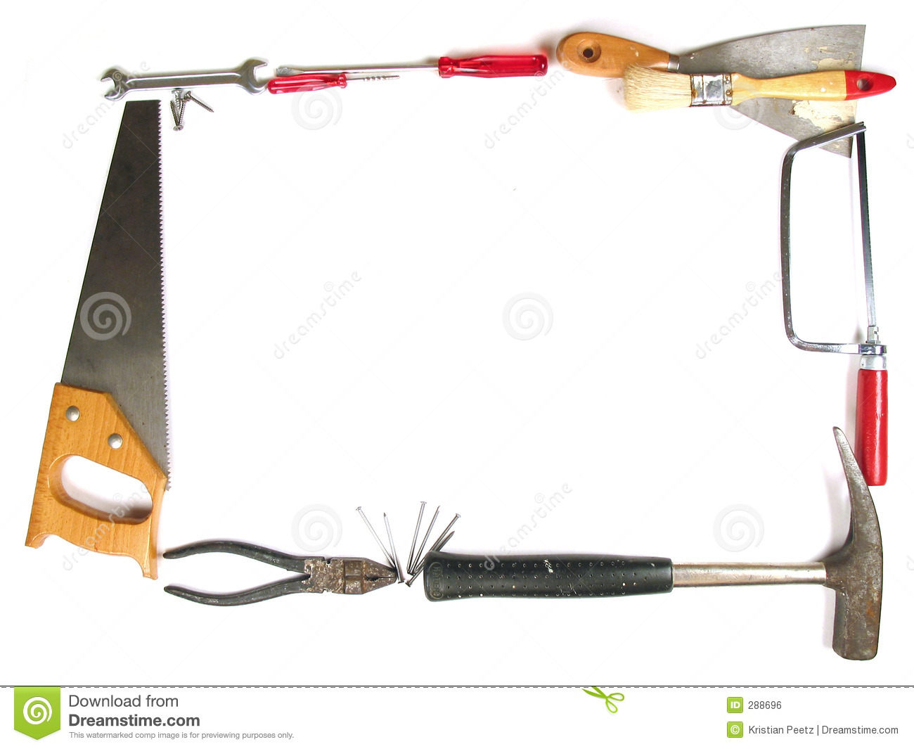 frame of tools