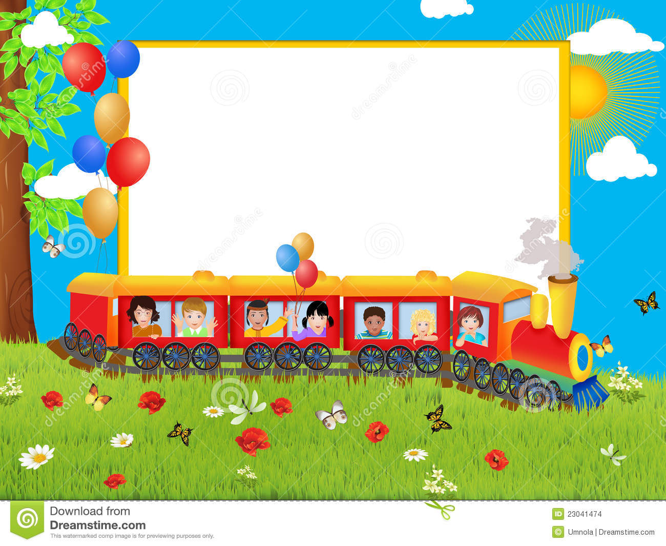 frame with train stock images image 23041474 steam engine train clipart old steam train clipart