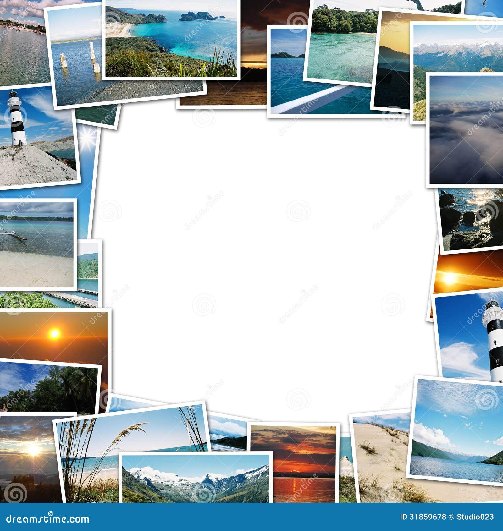 Frame of travel photos stock illustration. Illustration of nature ...